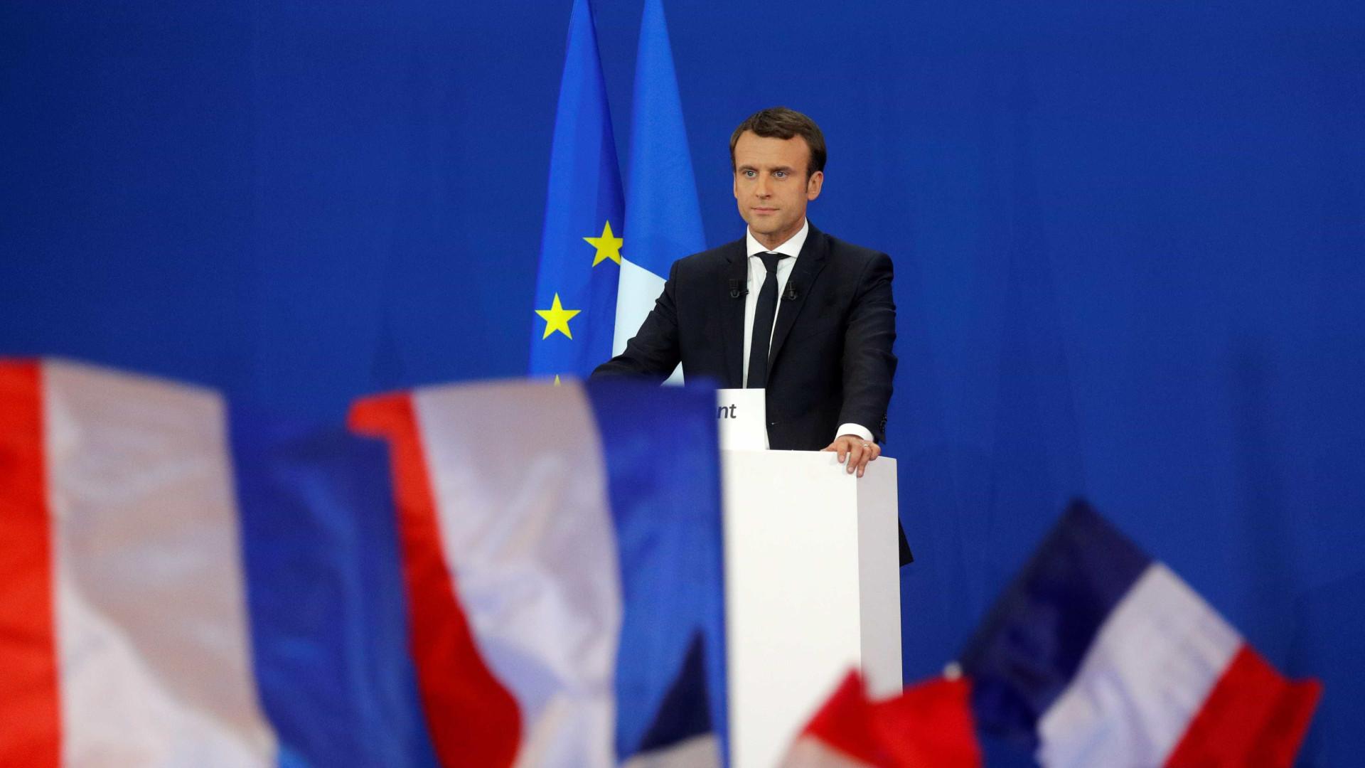 Emmanuel Macron solidariza-se com Portugal e oferece ajuda
