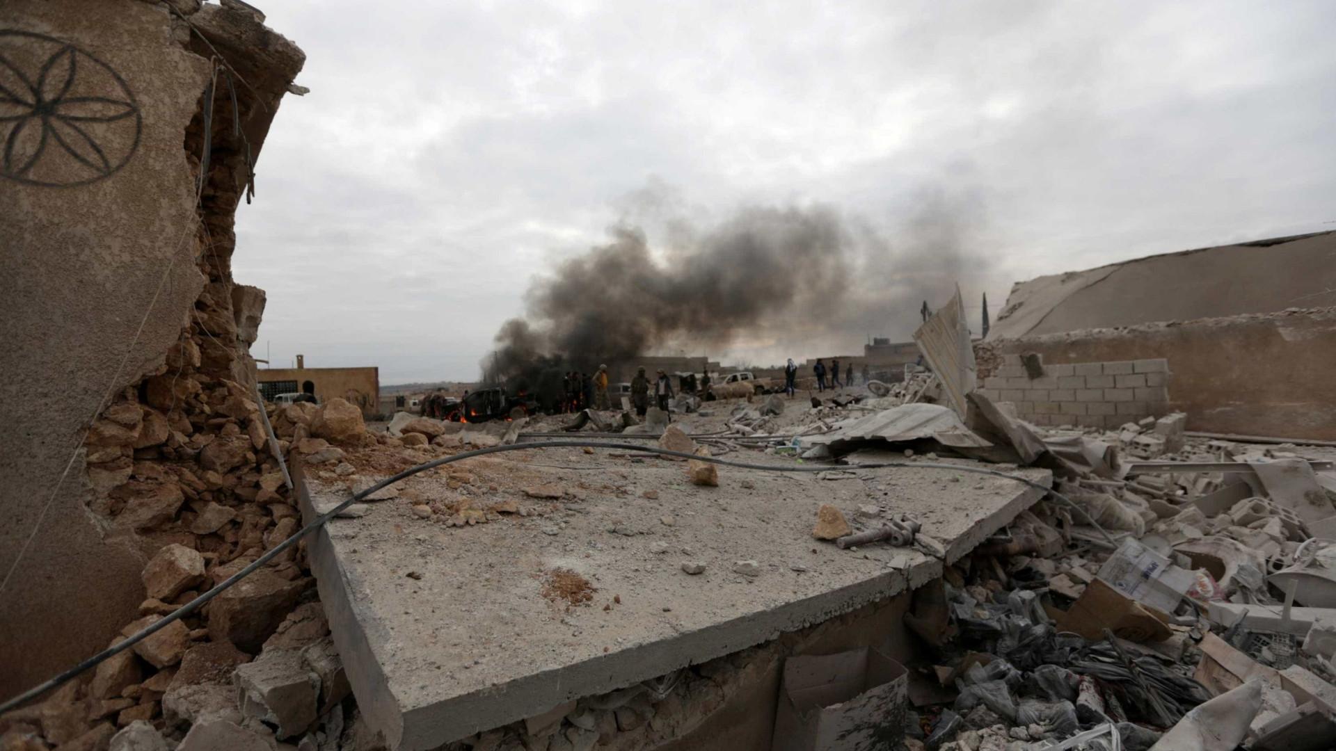 Quatro militares russos morrem em ataque no noroeste da Síria