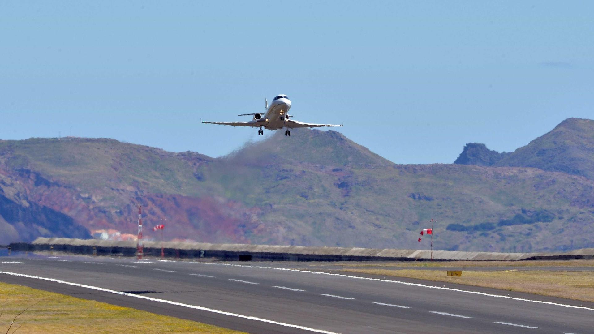 Ventos fortes no Aeroporto da Madeira cancelaram voos