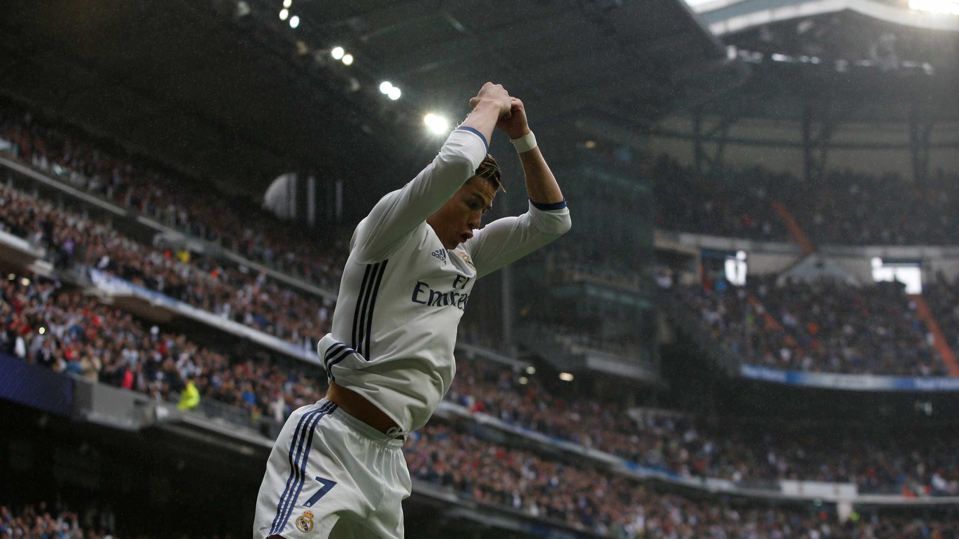 Cristiano Ronaldo pode bater dois recordes frente ao Borussia Dortmund