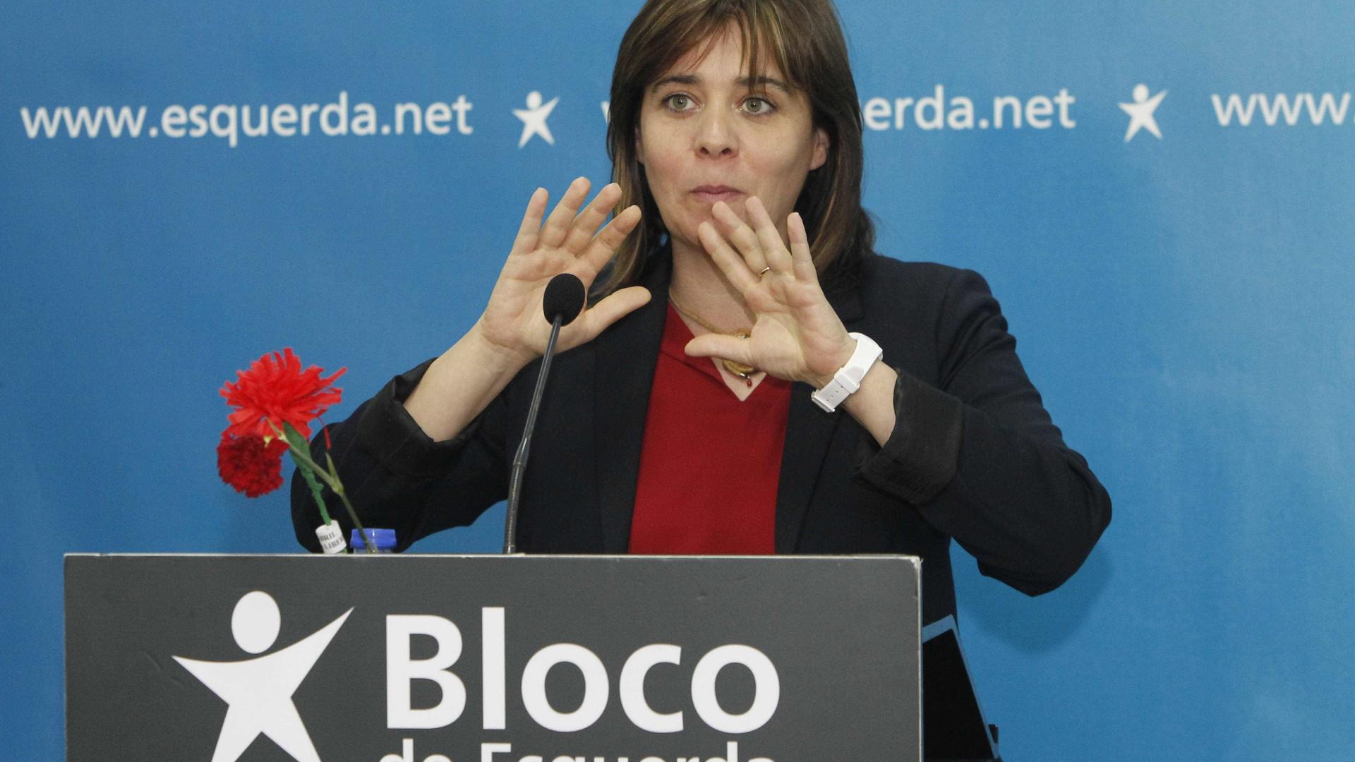 Catarina Martins defende grande debate público sobre as infraestruturas