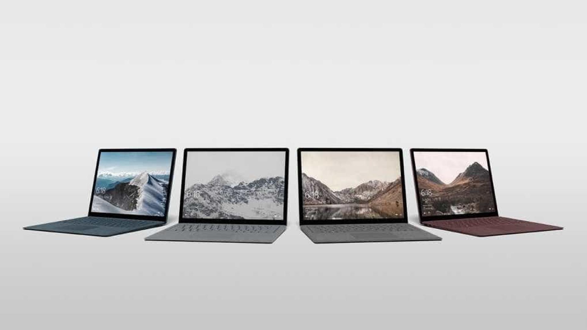 Impressionado com o novo Surface? Veja as fotografias do interior