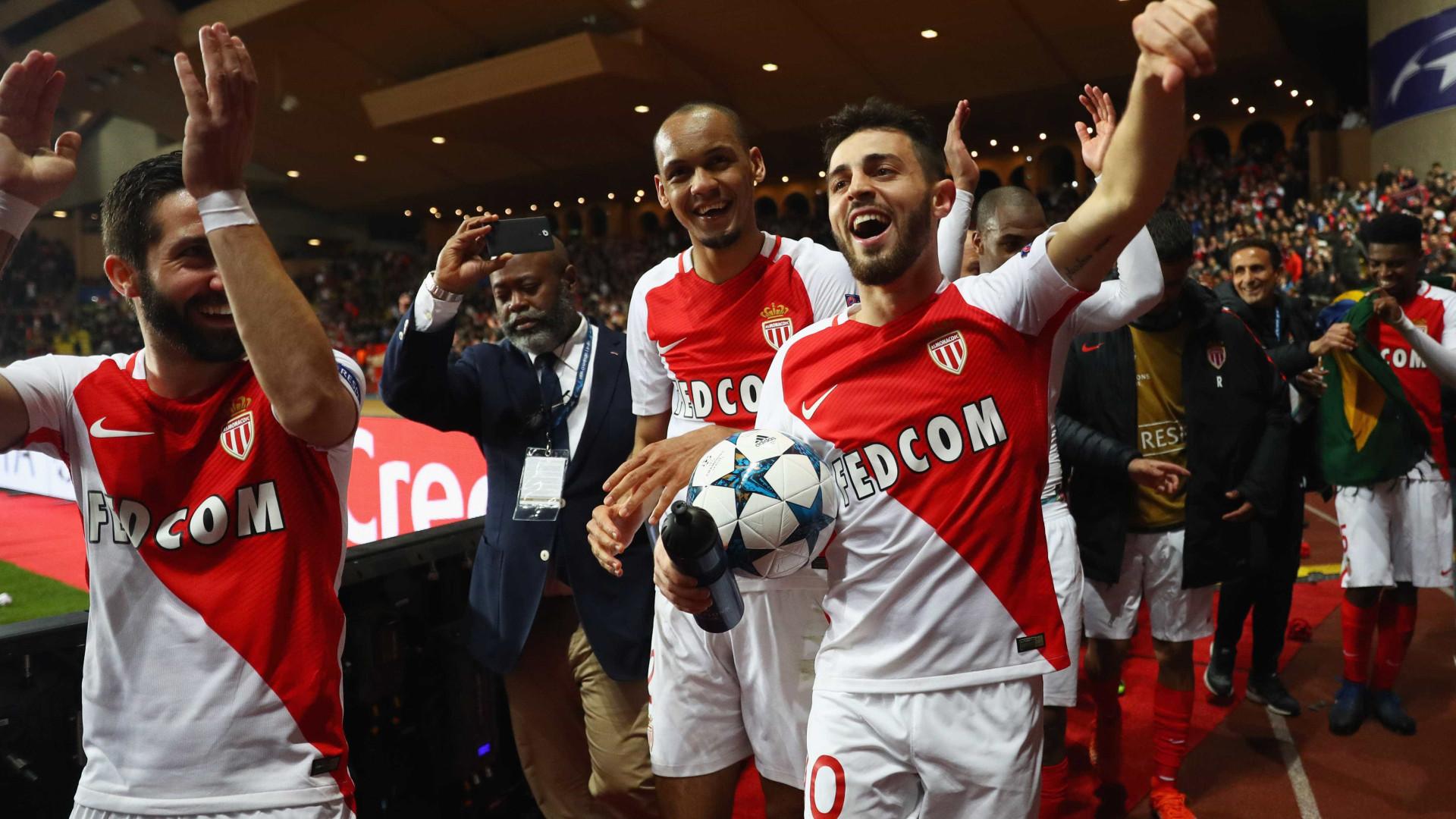 Mourinho pediu trio do Monaco. Bernardo Silva incluído