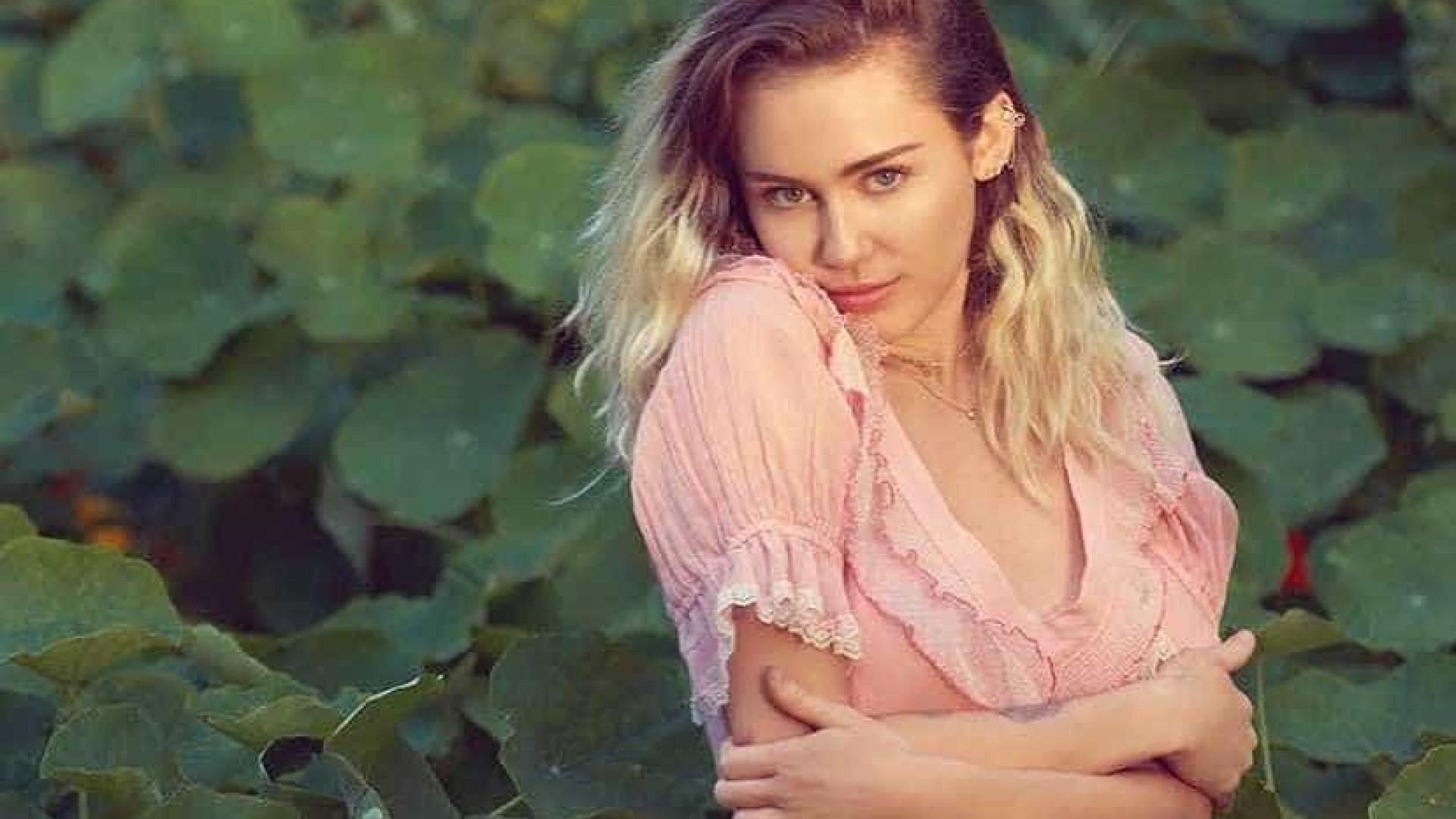 Miley Cyrus apaga fotos das redes sociais... o que estará a preparar?
