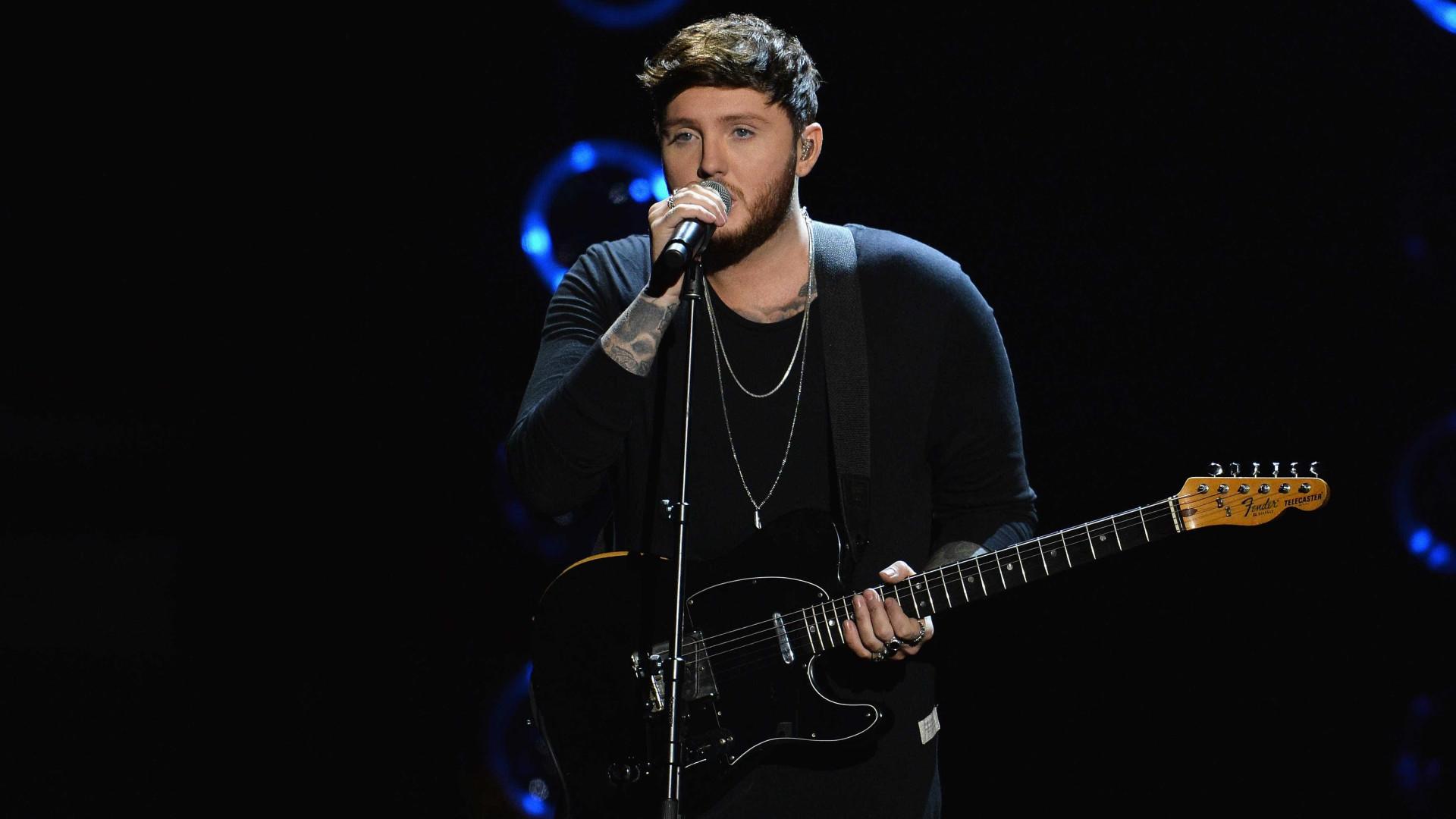 James Arthur vai dar concerto em Portugal