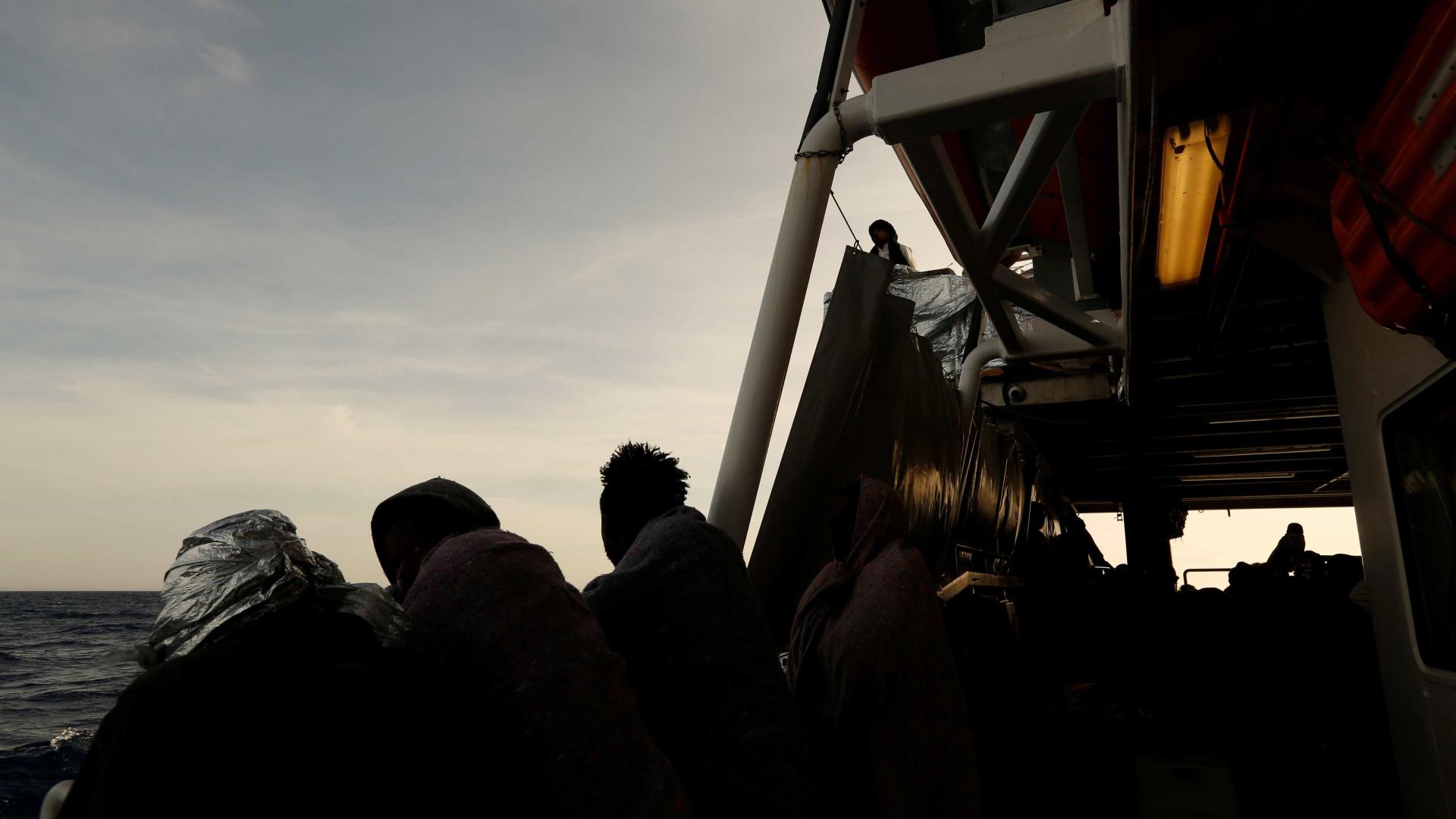 Líbia: naufrágio tem 90 desaparecidos