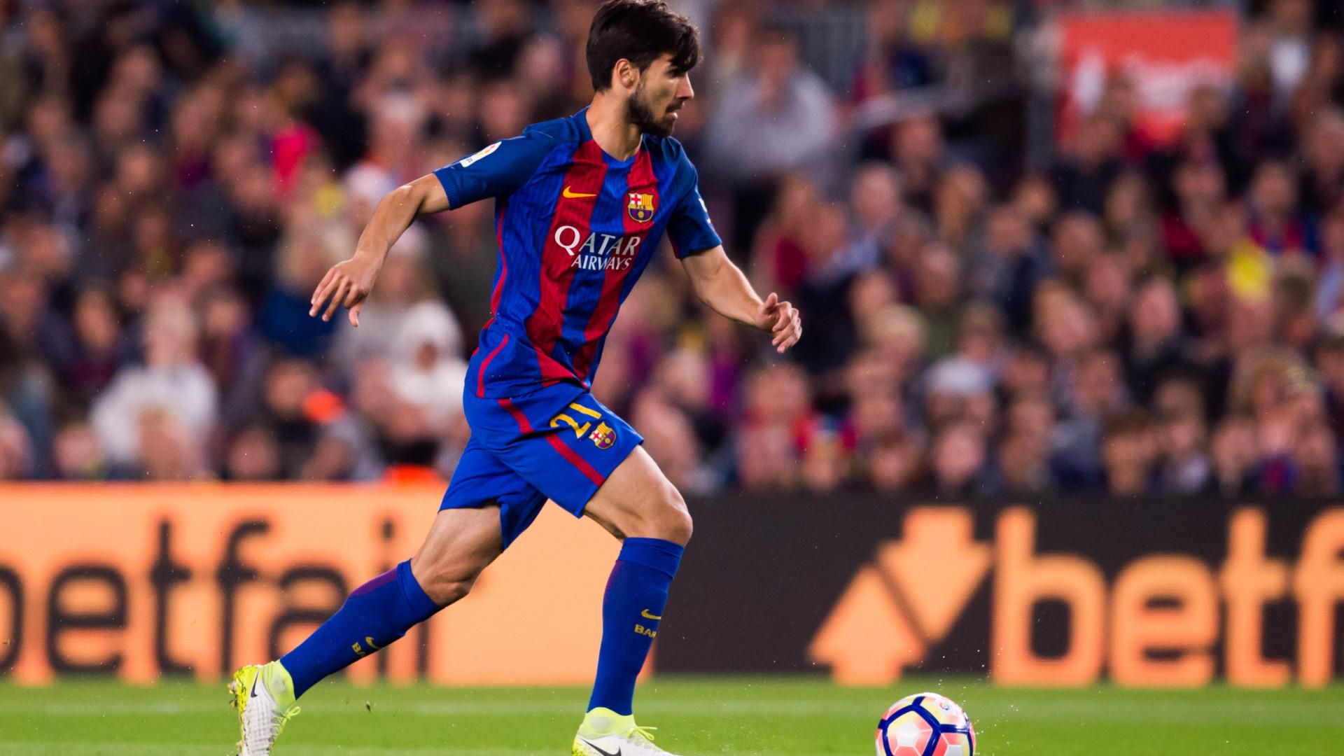 André Gomes fora da digressão do Barcelona pelos Estados Unidos