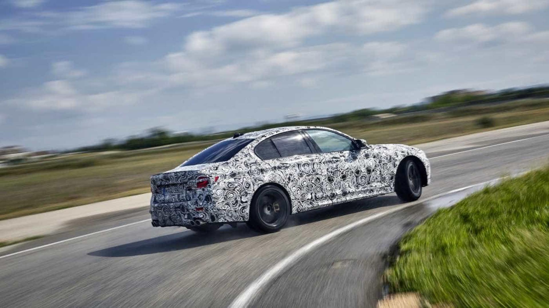 Ai está o novo BMW M5... com 600 cavalos