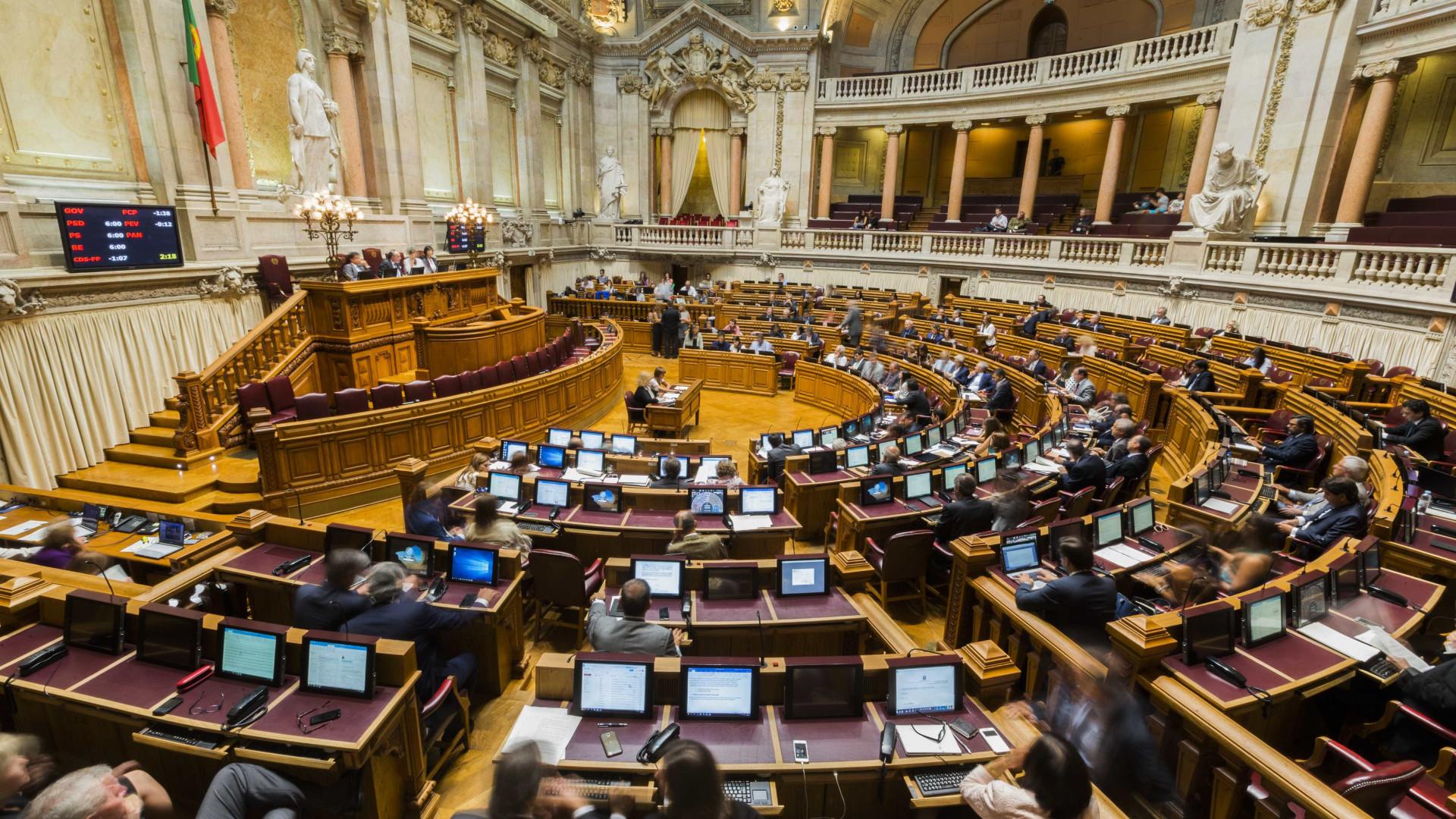 PSD e CDS votaram com o PS em cinco leis do Governo