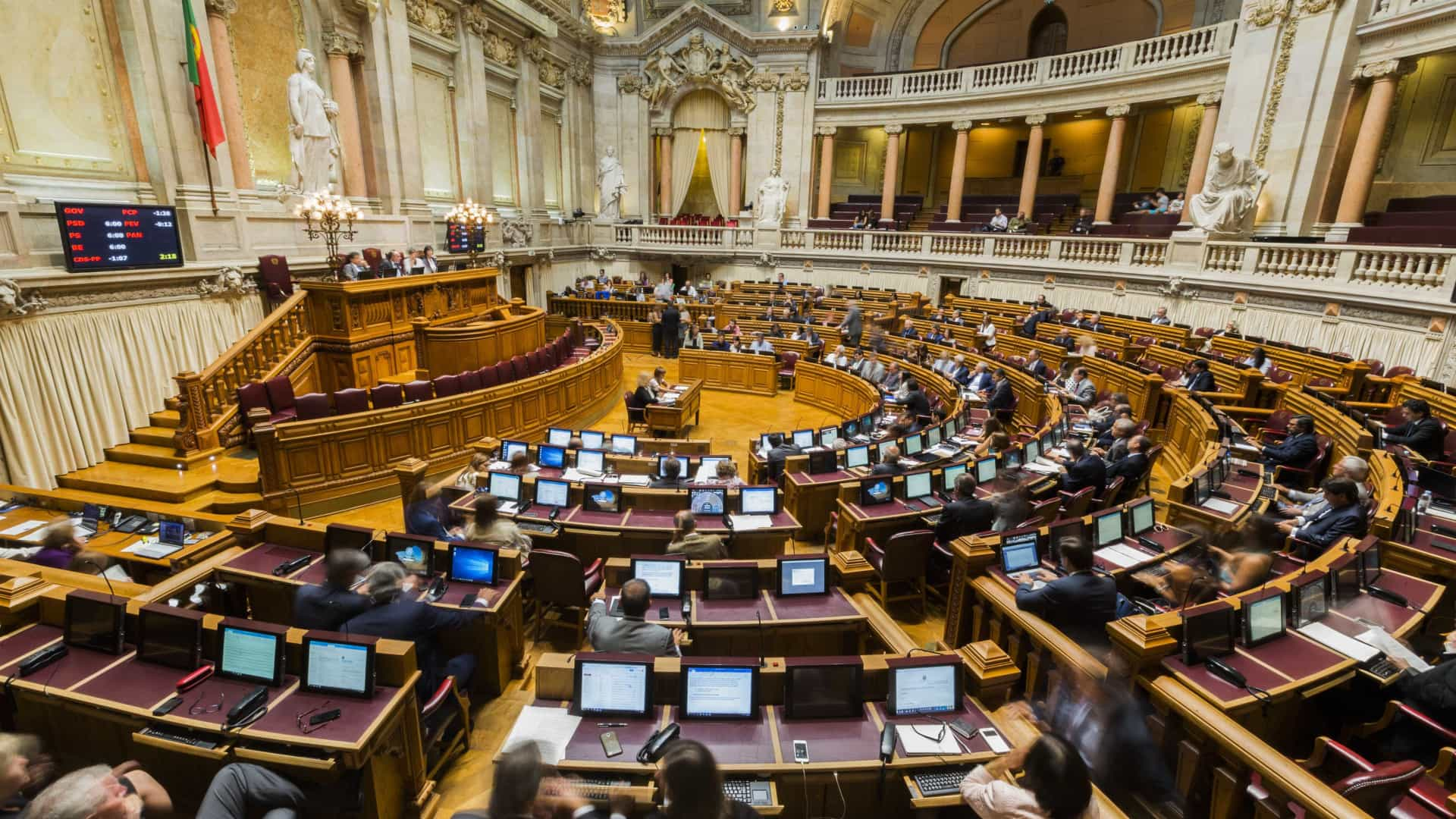 Parlamento aprova valorização da calçada portuguesa