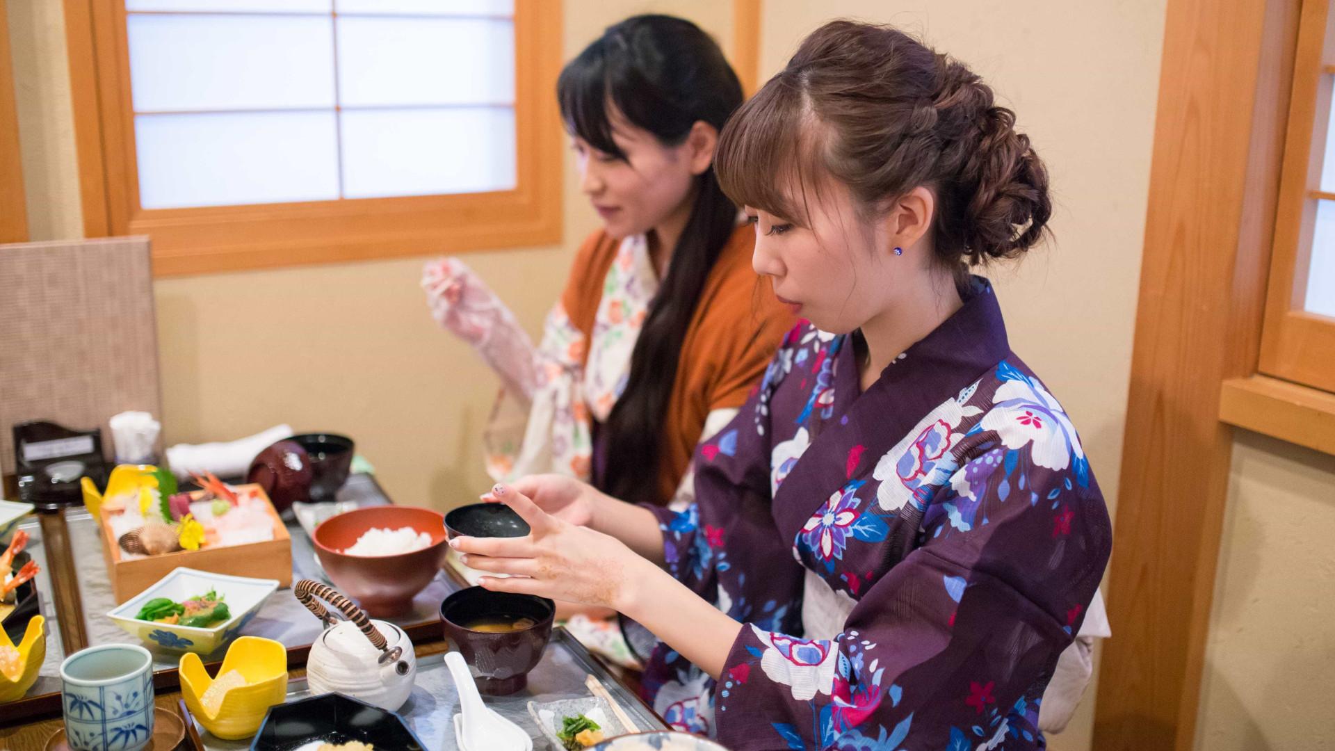 Dieta japonesa é modelo para o mundo, diz ONU