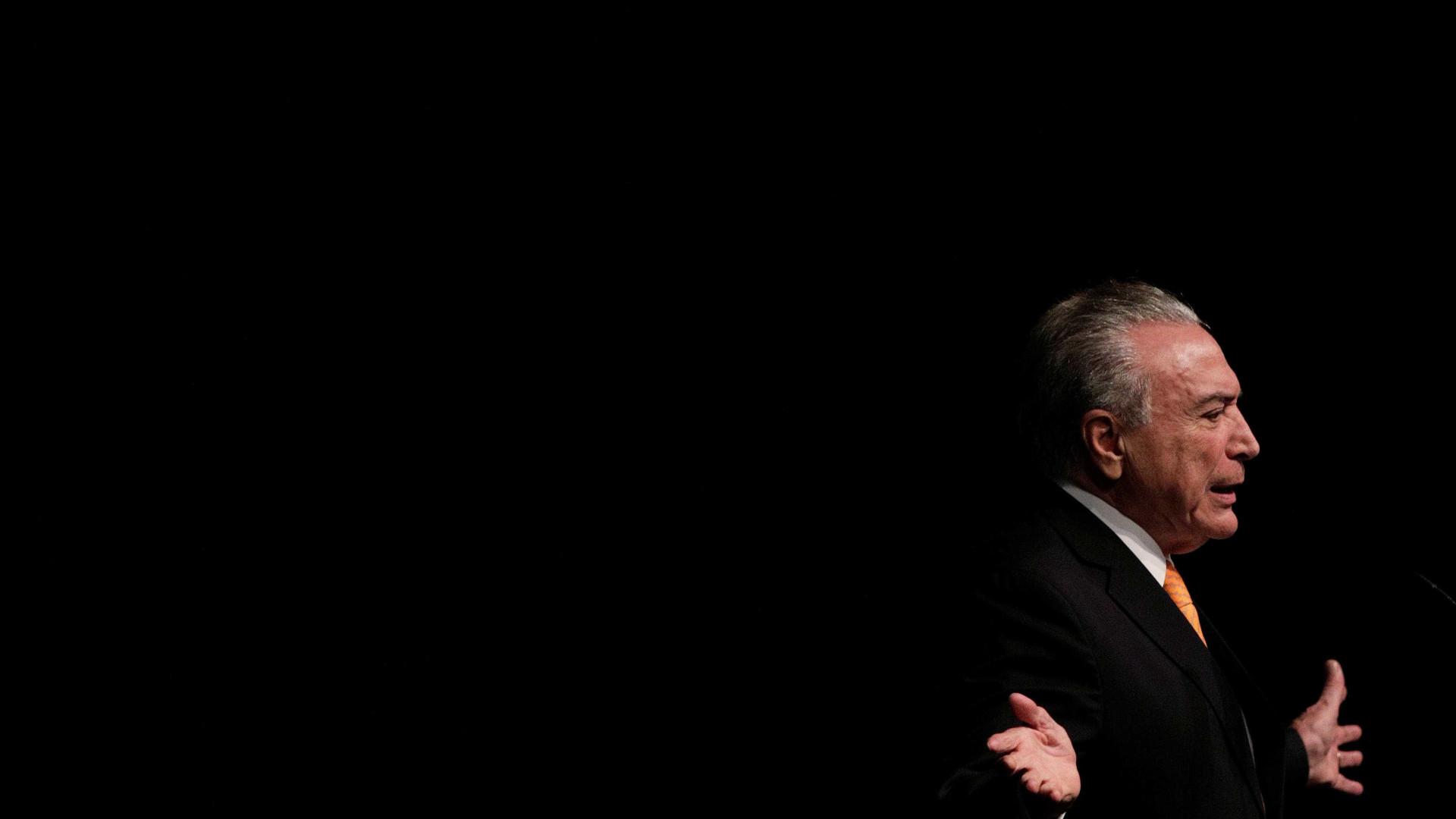 """Michel Temer terminou a sua vida política"""