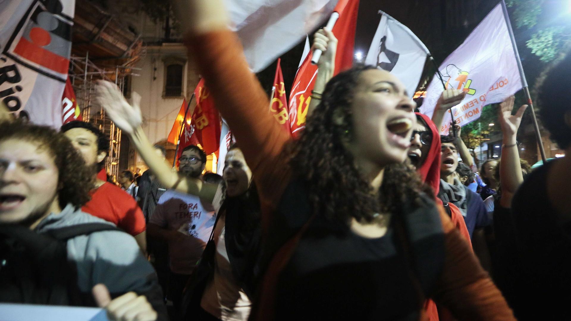 Cidades brasileiras organizam protestos contra Presidente Michel Temer