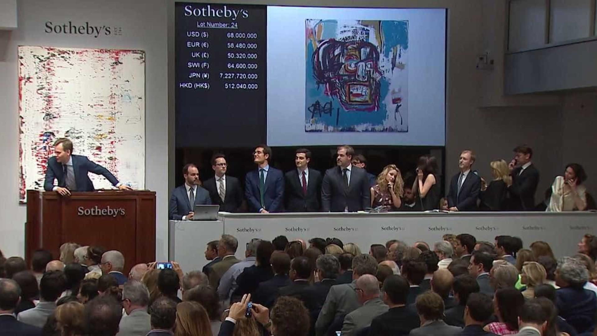 Disputa em leilão leva quadro a ser vendido por 99 milhões de euros
