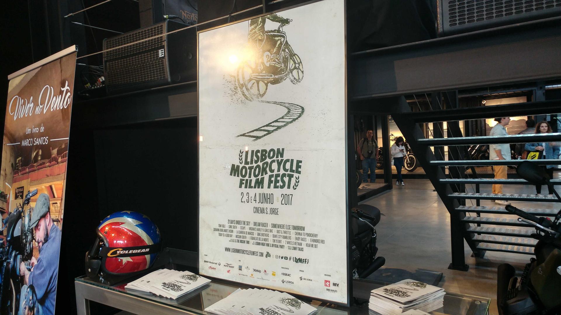 As duas rodas chegam ao São Jorge com o Motorcycle Film Fest