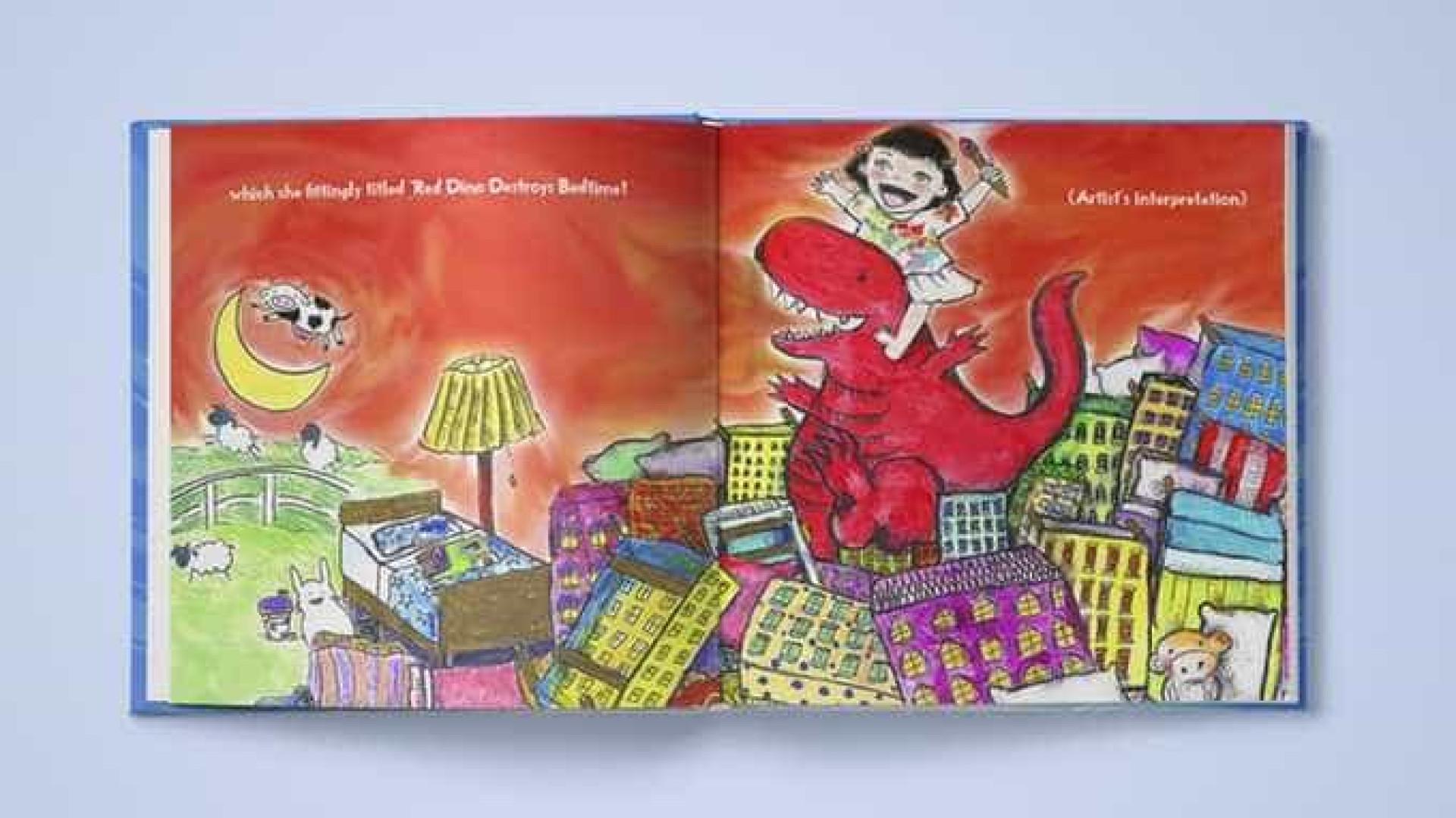 Pai criou livro para filha que não se identificava com nenhuma personagem