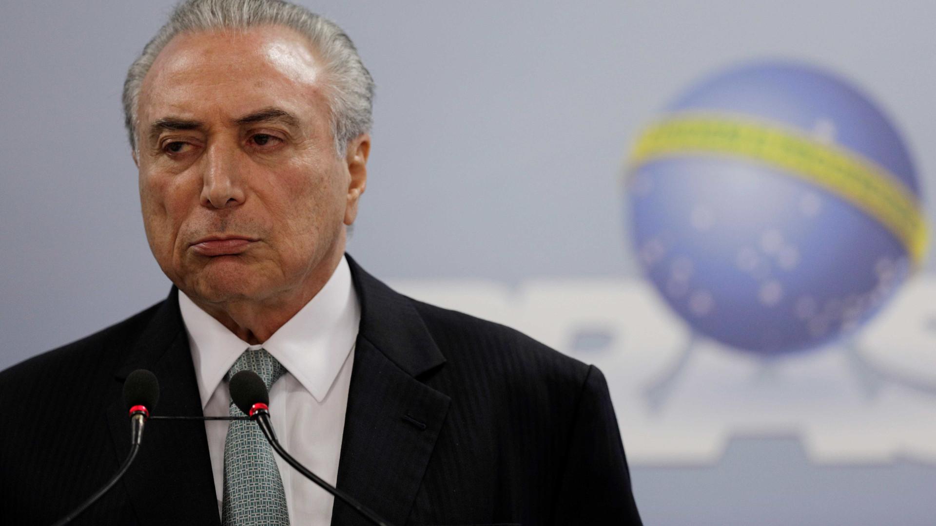 Michel Temer acusado de corrupção passiva e organização criminosa