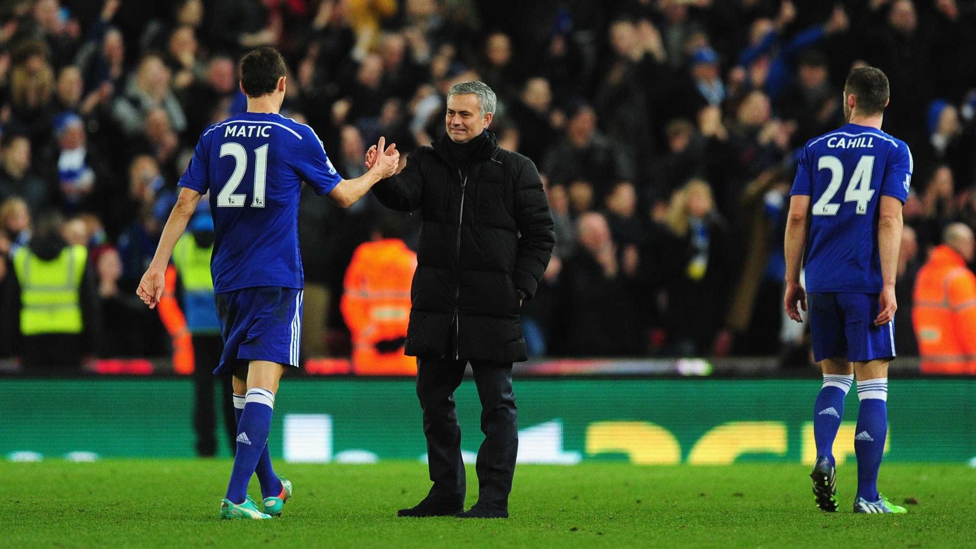José Mourinho quer roubar Matic ao Chelsea