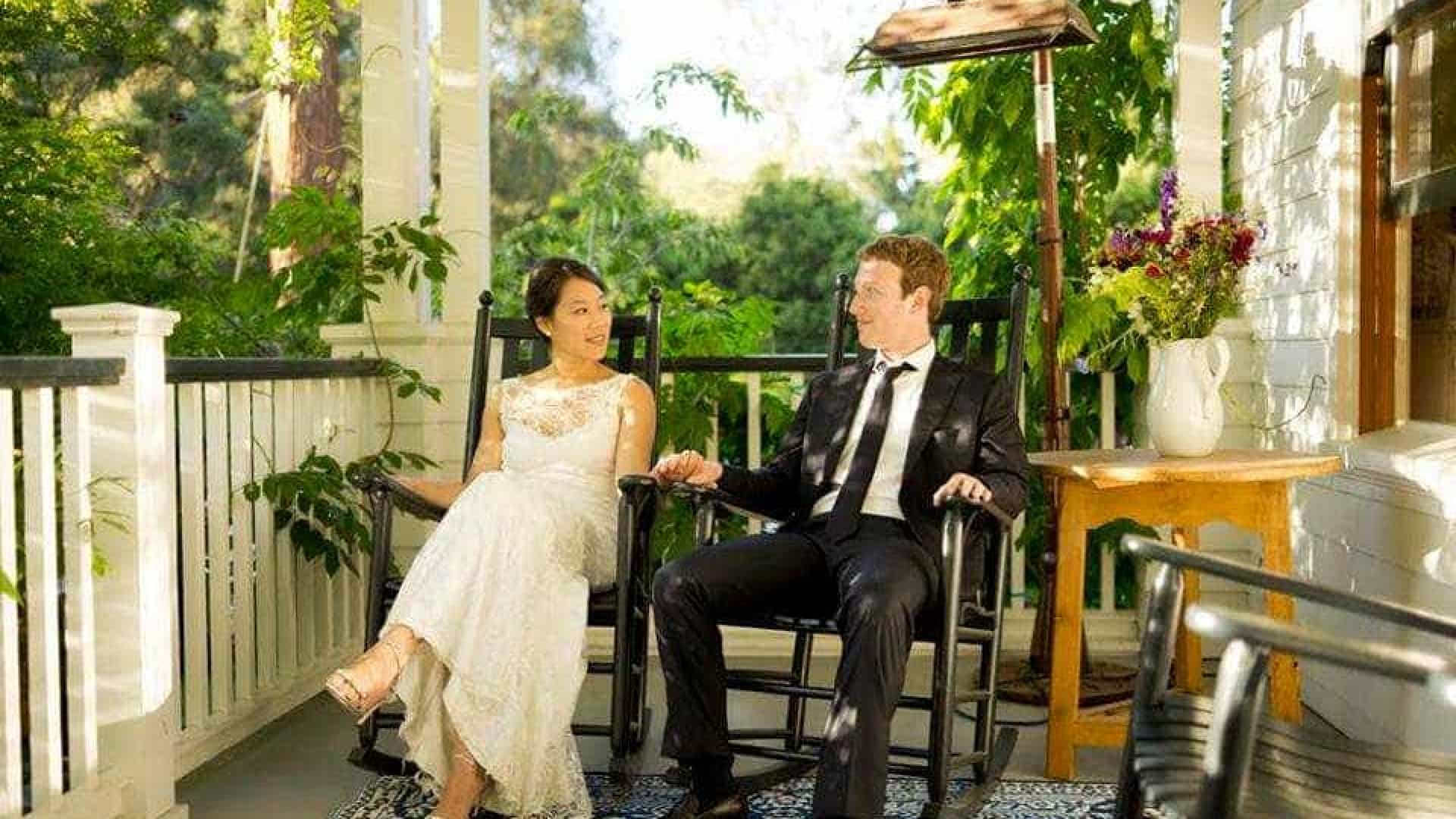 Zuckerberg revela como quase estragou o dia de casamento, há 5 anos