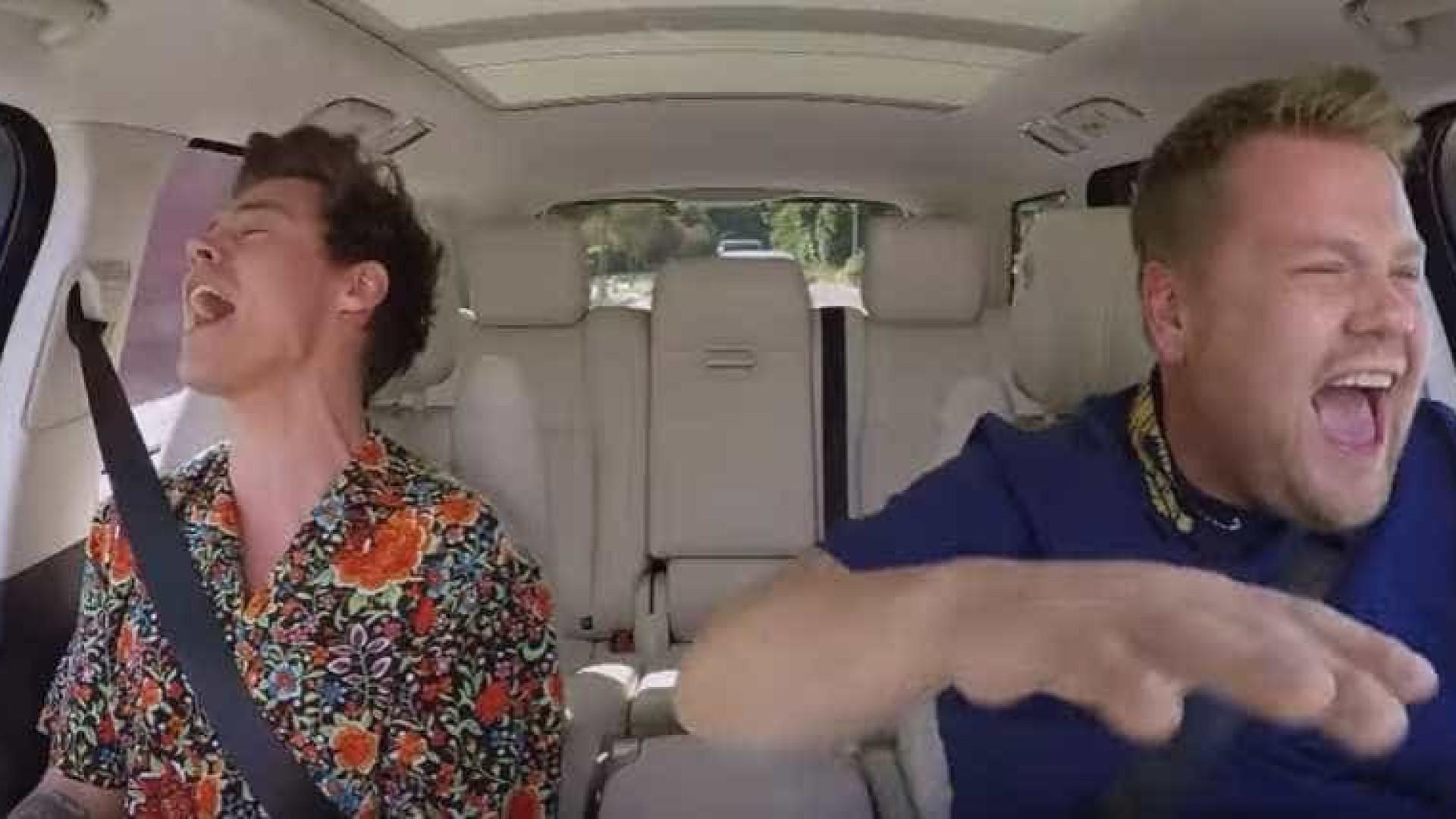 O novo episódio de 'Carpool Karaoke' é de chorar a rir