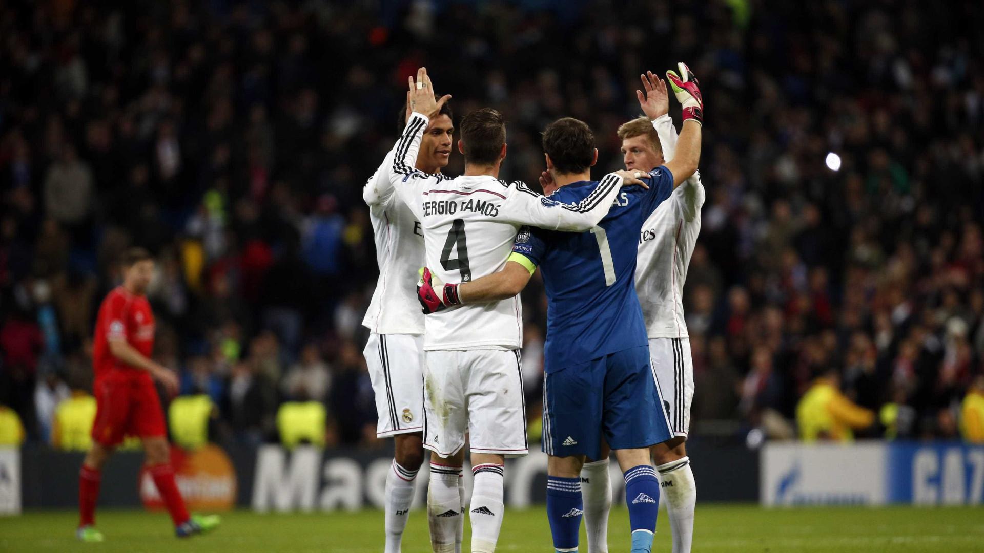 """Sergio Ramos dá os parabéns a Casillas: """"Vemo-nos em Madrid"""""""