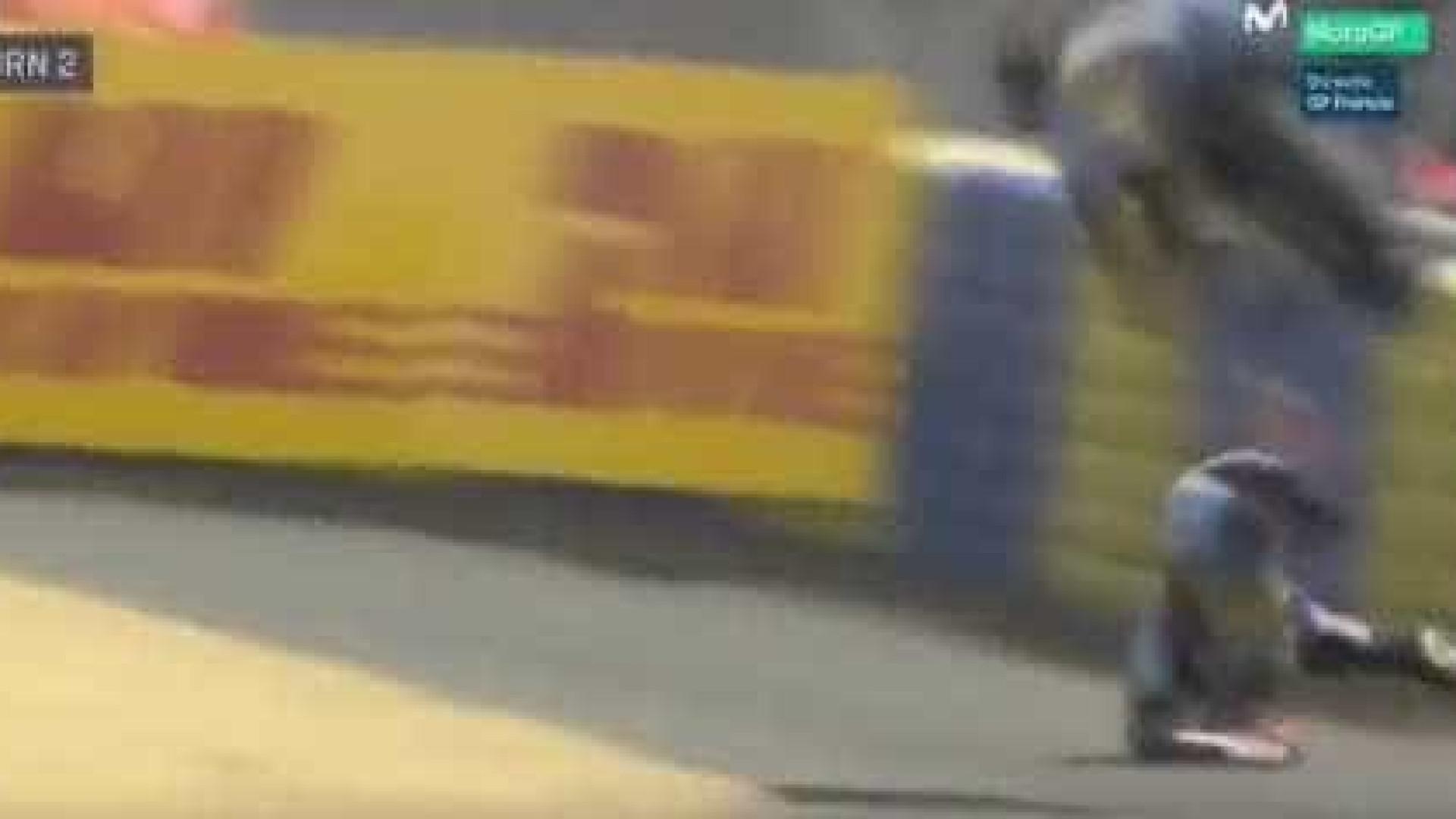 Miller despista-se e sofre um chocante acidente no GP de França