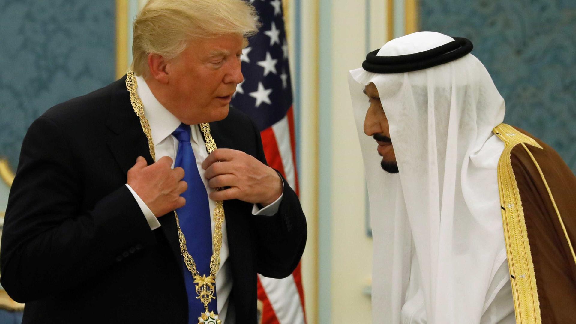 Rei Salman diz que visita de Trump contribui para a segurança global