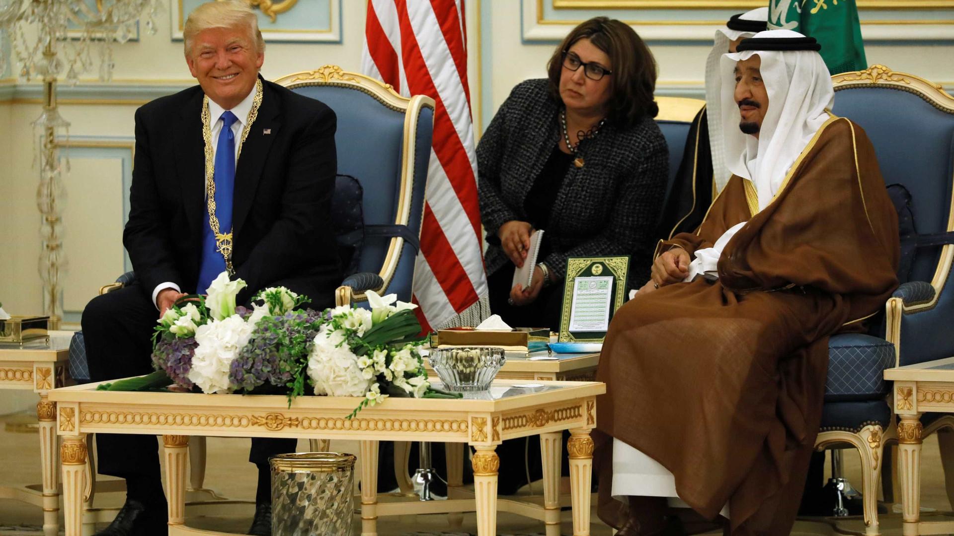 EUA anunciam vendas de armas de 110 mil milhões à Arábia Saudita