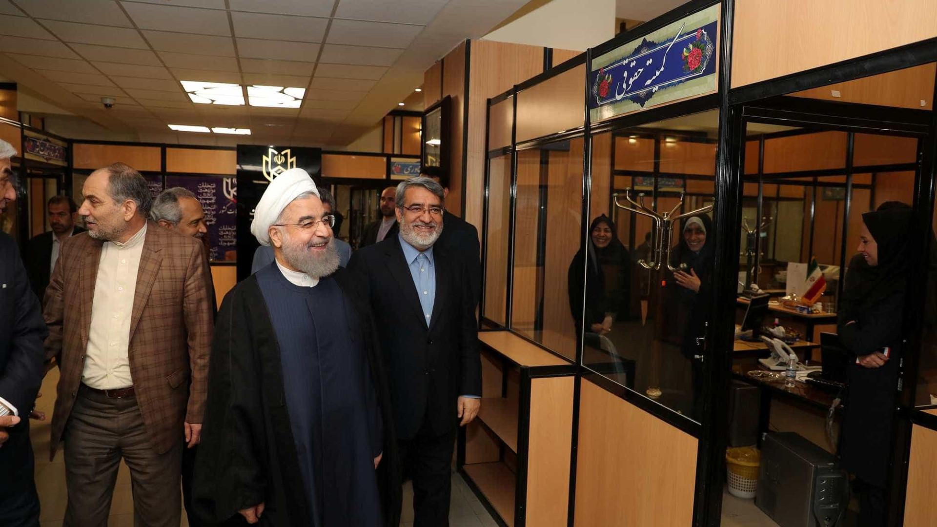 """Irão escolheu a via do """"entendimento com o mundo"""""""
