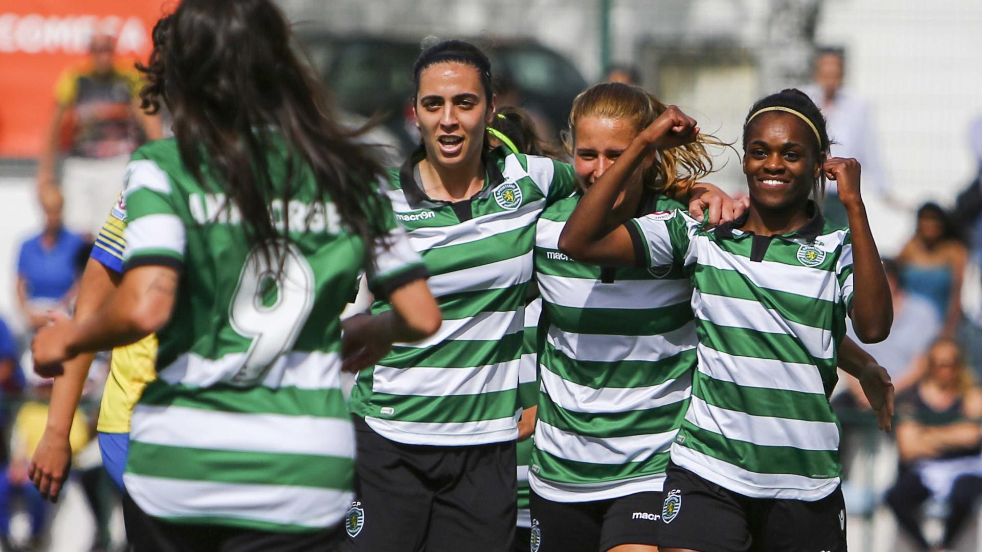 Sporting é campeão nacional de futebol feminino