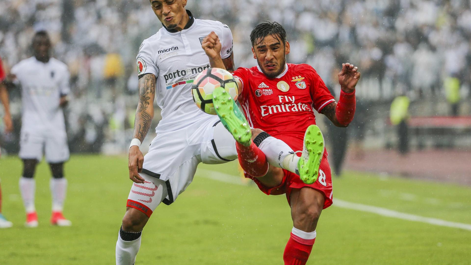 Ingressos para Supertaça Cândido de Oliveira entre Benfica e Guimarães esgotados