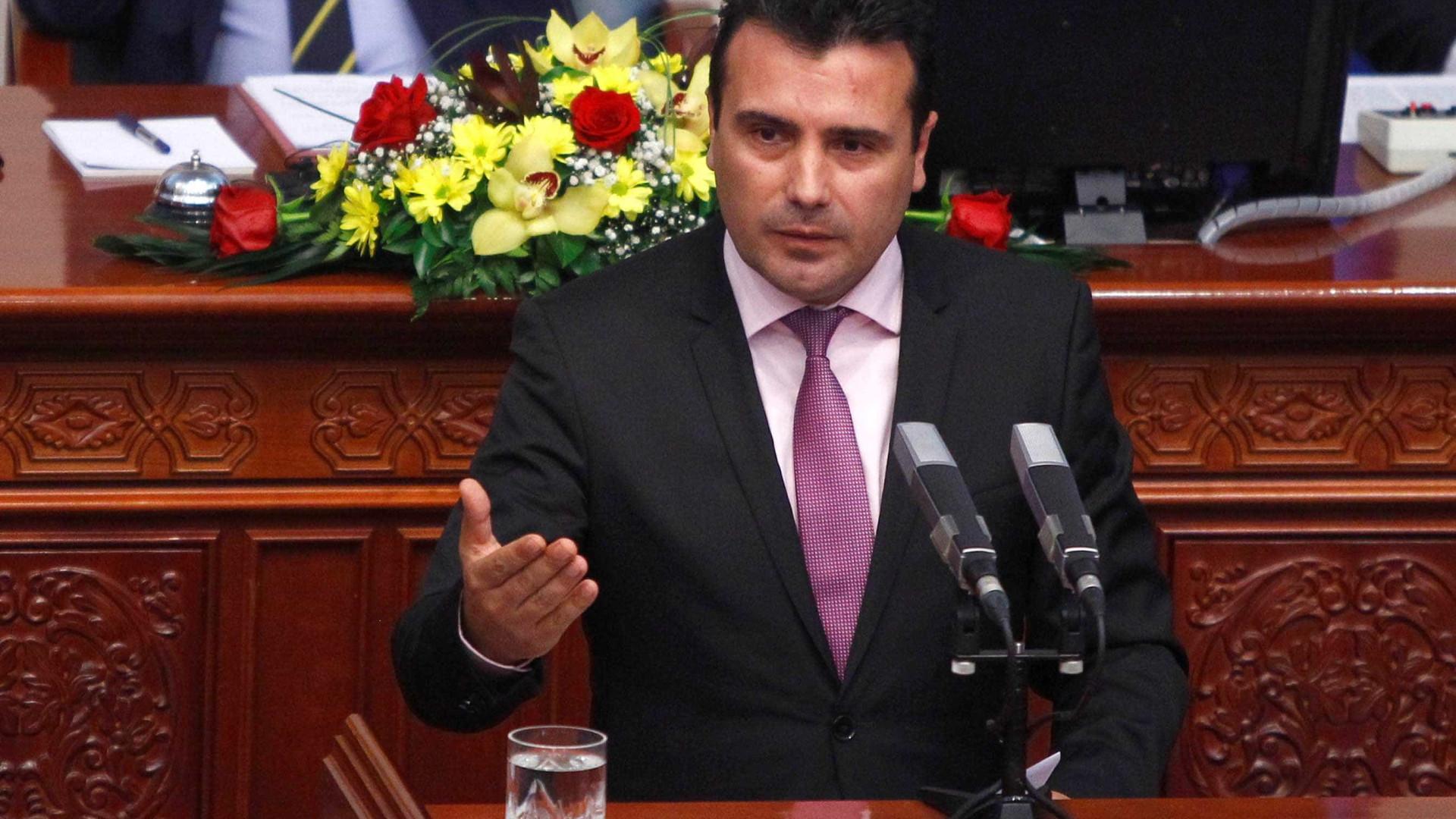 """Macedónia pede a """"amigos"""" gregos que ratifiquem mudança de nome do país"""