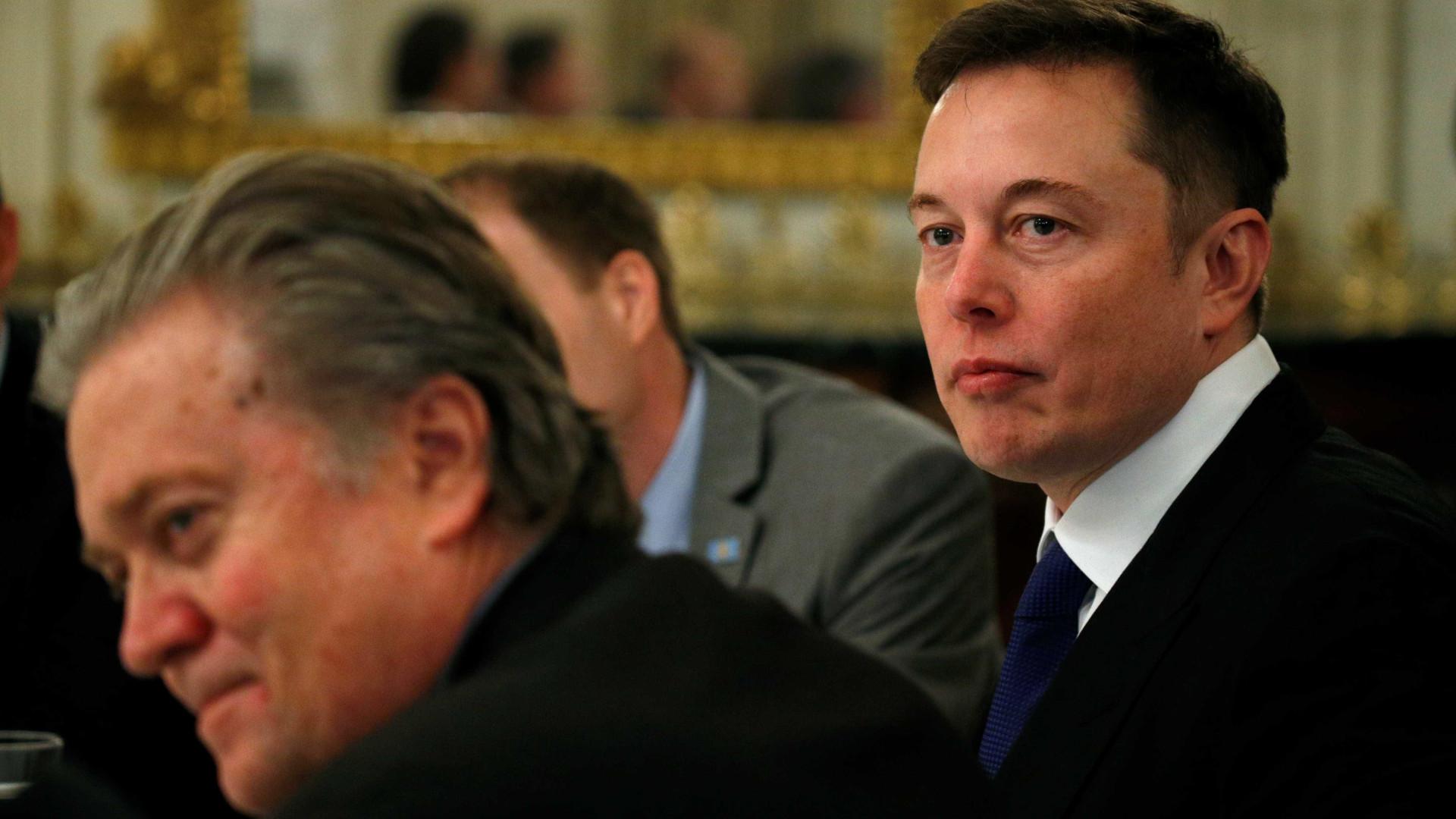 Nem tudo são rosas na vida do patrão da Tesla, Elon Musk