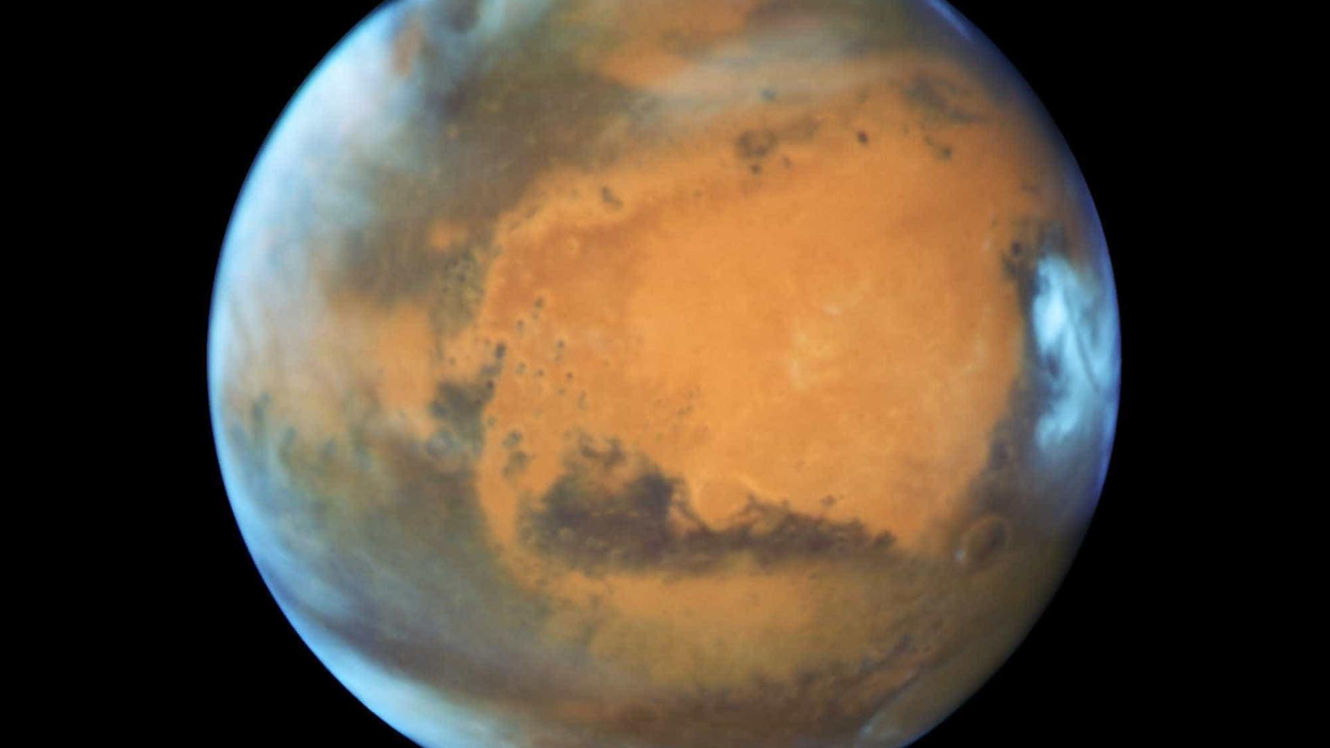 Tempestade de Marte já cobre todo o planeta