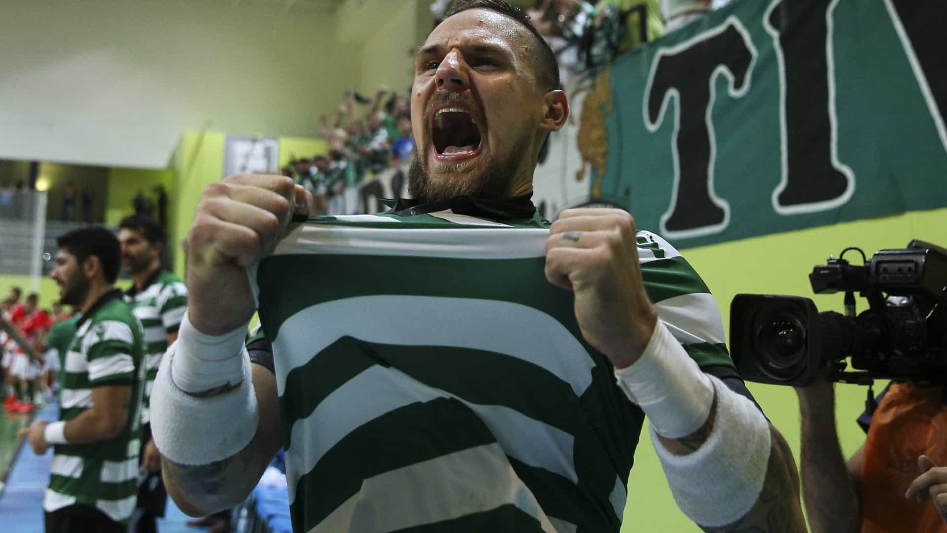 EHF Champions: Sporting arranca triunfo em casa do Besiktas