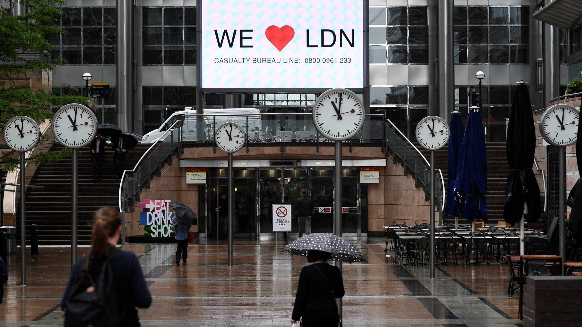 Polícia britânica detém seis suspeitos de terrorismo