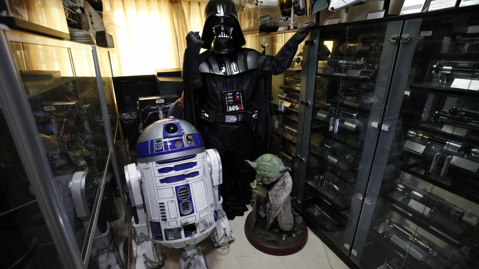 Maior colecção de Star Wars do mundo foi roubada