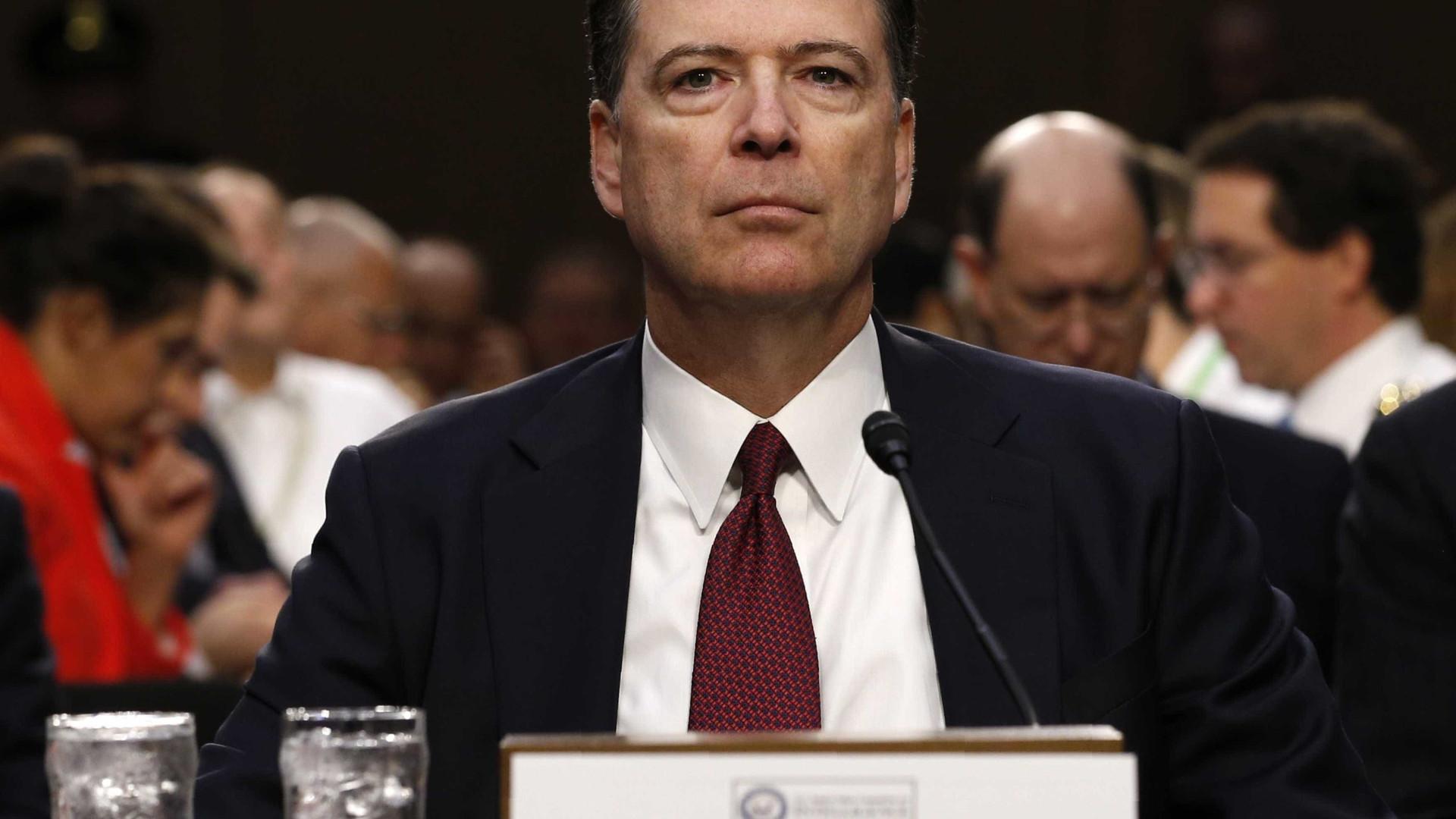 """""""Trump simplesmente mentiu"""", diz ex-diretor do FBI perante o Senado"""