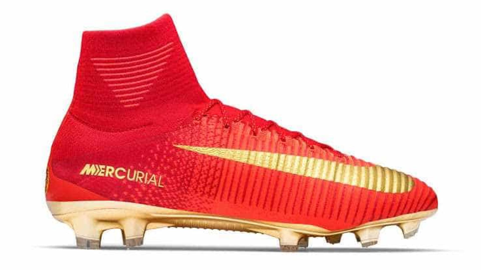 3cea08eadc Nike cria chuteiras únicas para Ronaldo usar na Taça das Confederações