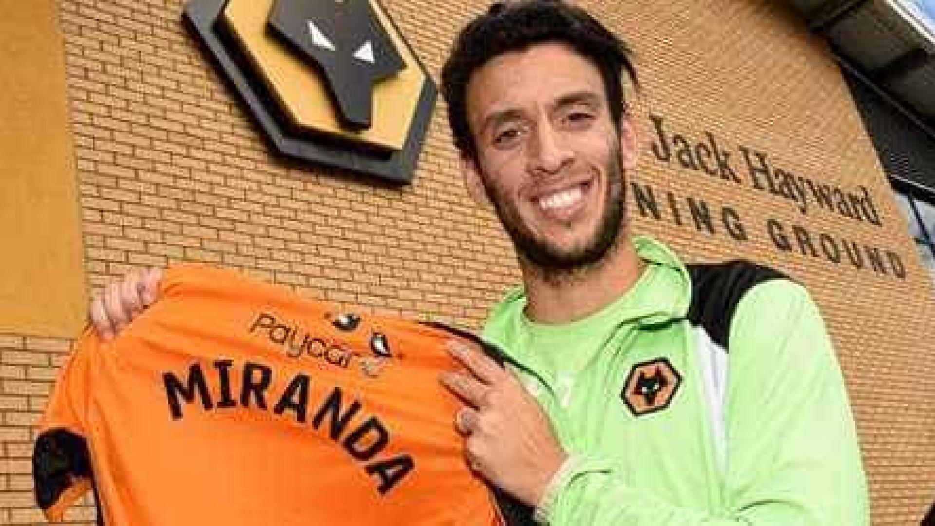 Roderick Miranda assina pelo Wolverhampton, de Nuno Espírito Santo