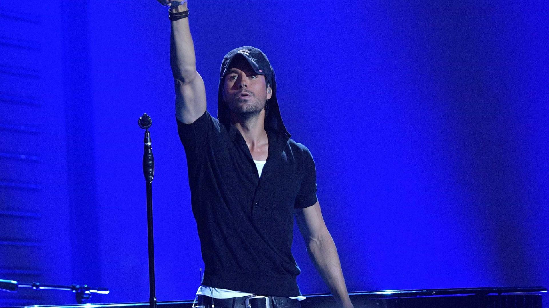 Enrique Iglesias vai doar 7% das receitas do concerto em Lisboa ao IPO
