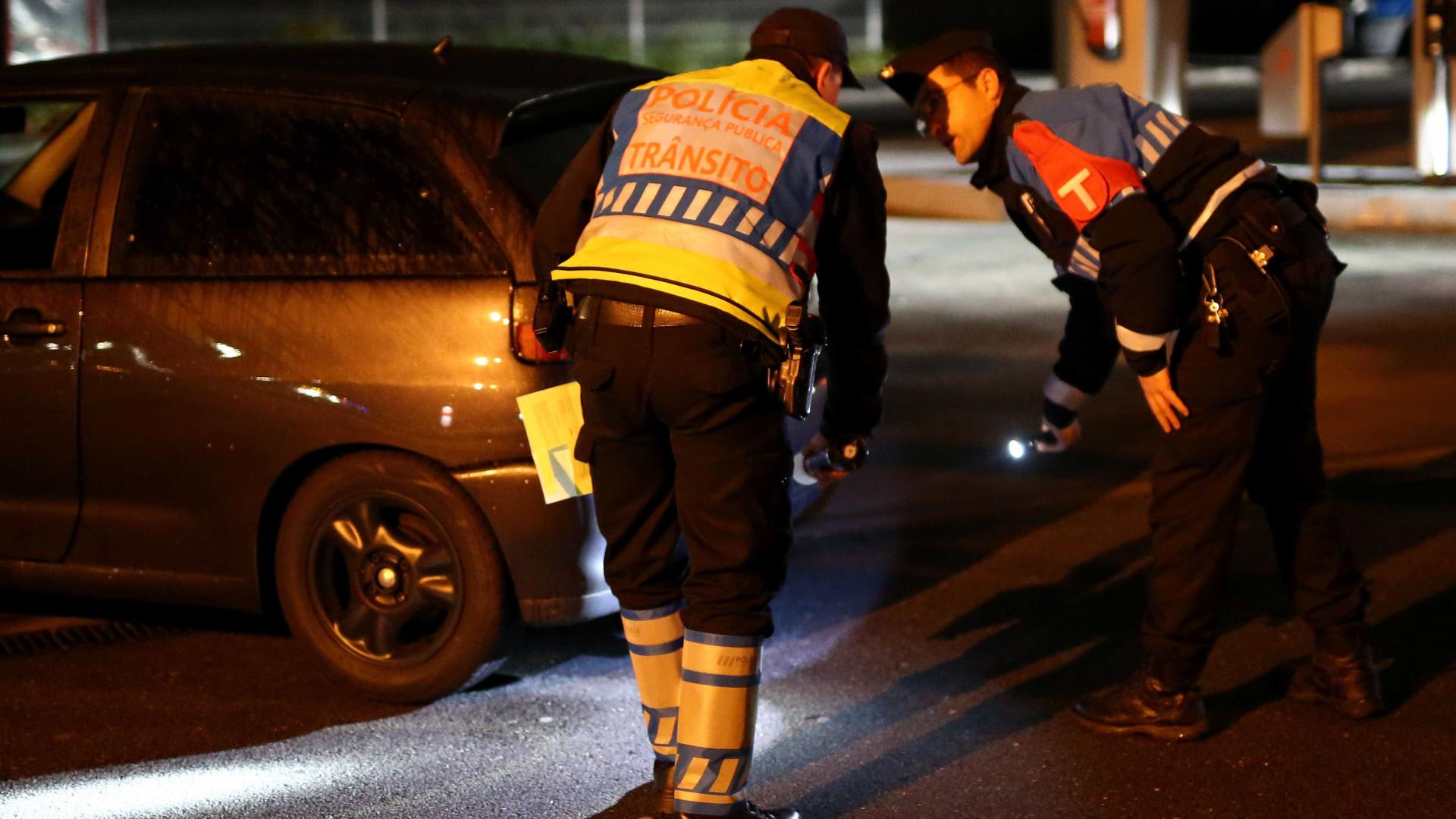 Apreendidos em Santarém explosivos e detonadores, duas pessoas detidas
