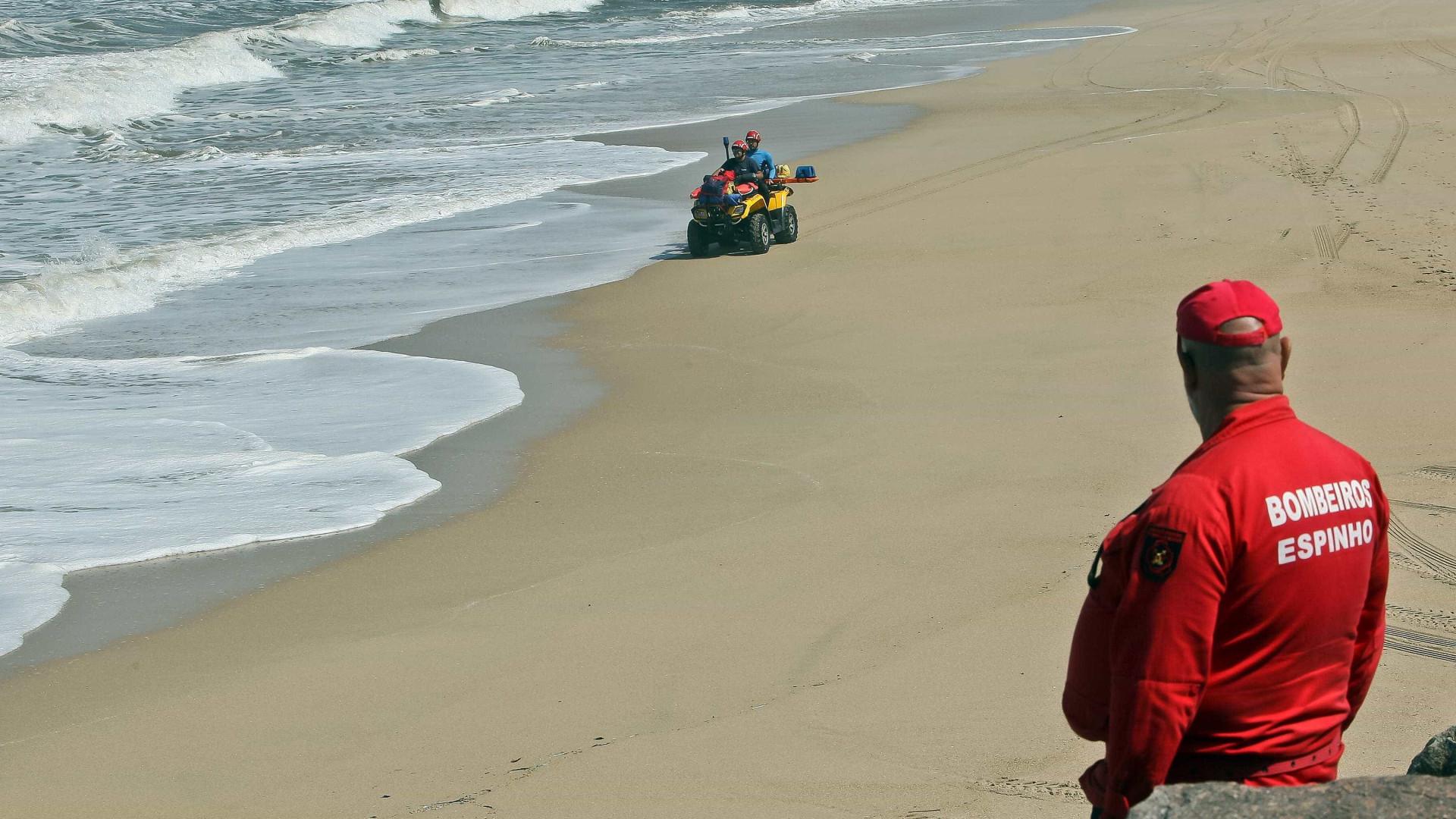 Encontrado corpo em praia de Espinho