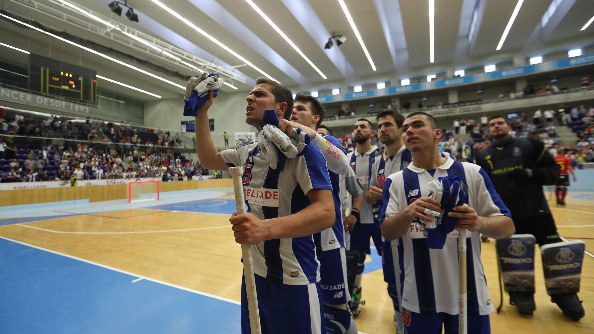 FC Porto é o novo campeão nacional de hóquei em patins