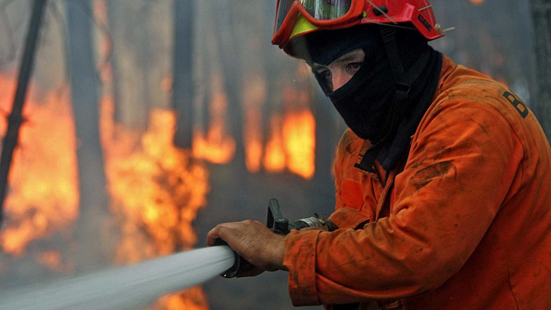 Fogos continuam ativos em Mangualde, Oleiros e Guarda mas começam a ceder