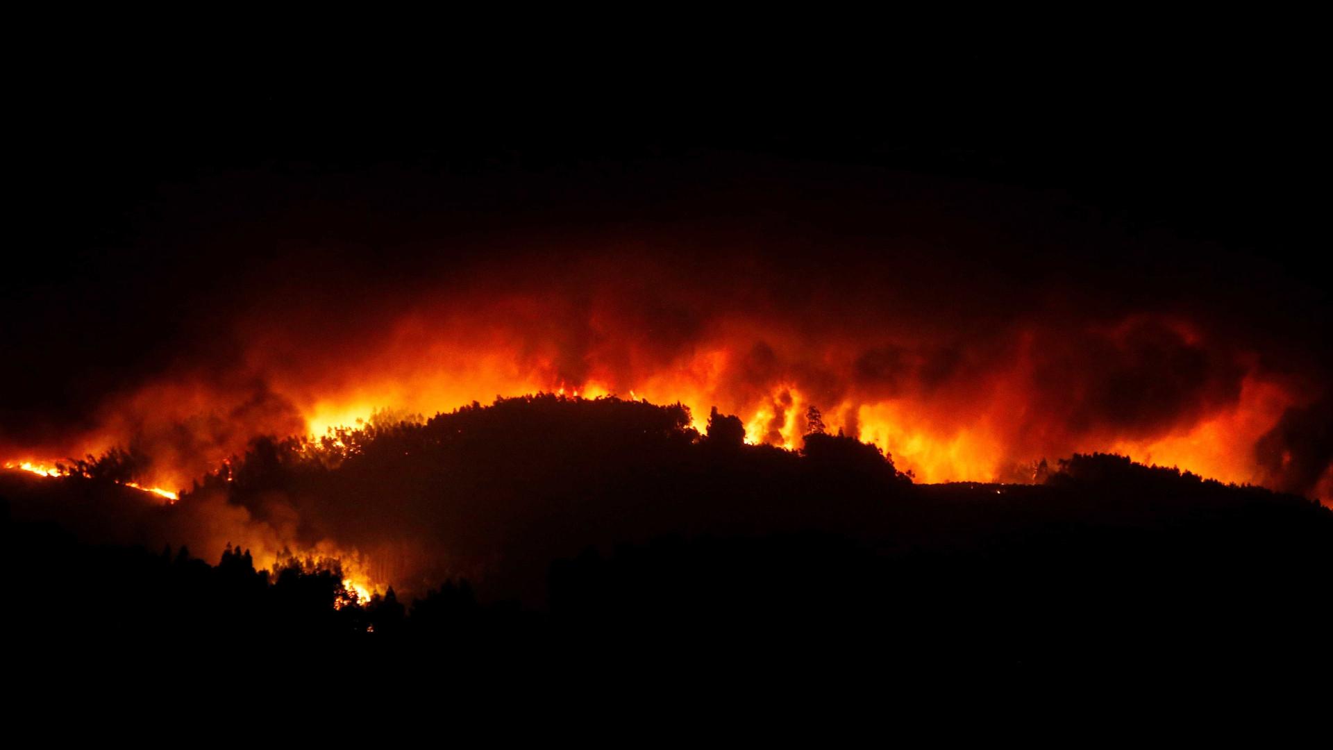 """Castanheira de Pera: """"Isto está uma situação catastrófica. Está caótica"""""""