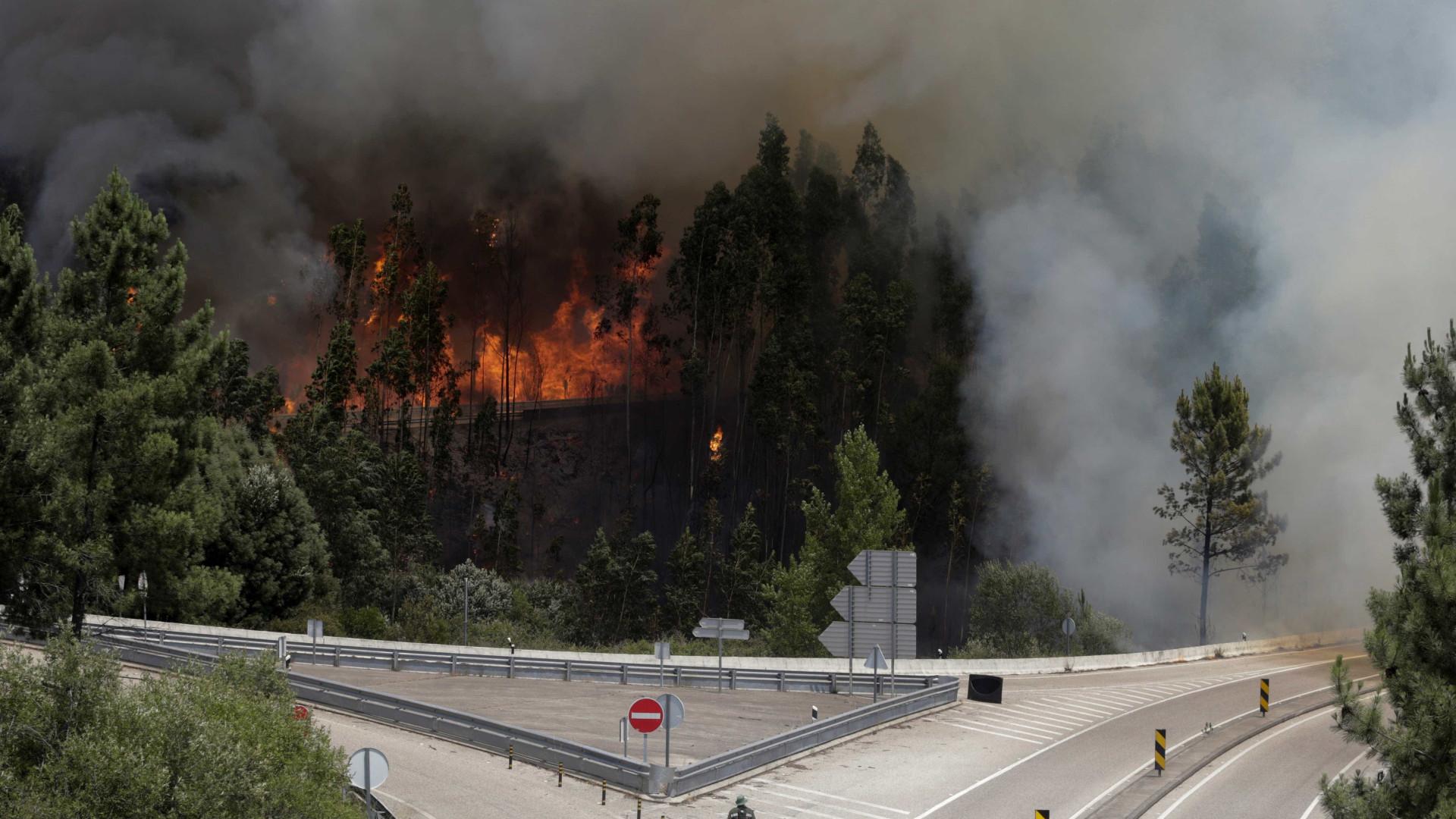 Incêndio em Pedrógão é o que mais vítimas mortais provocou em Portugal