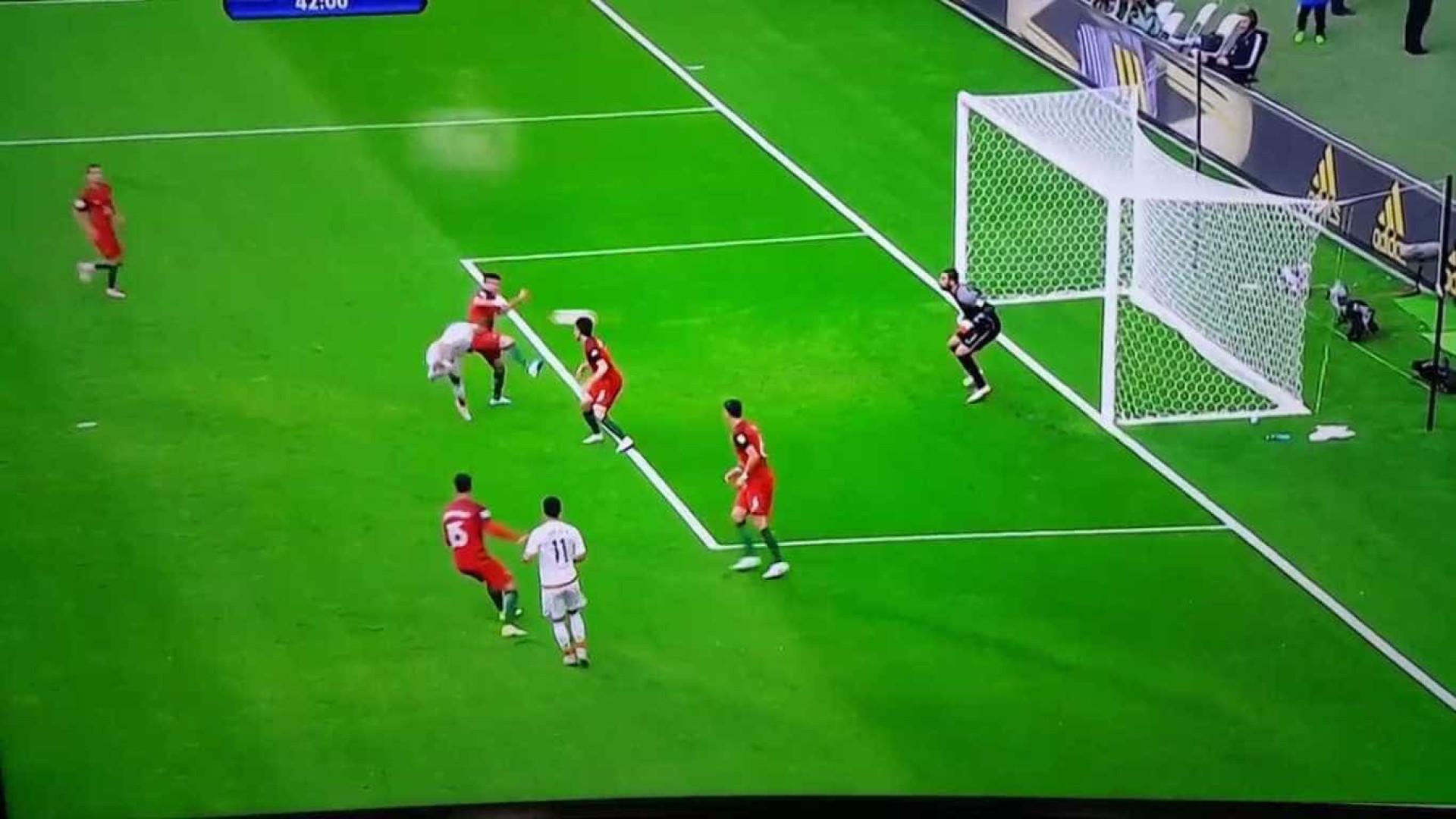 Chicharito 'congela' defensiva portuguesa e iguala a partida