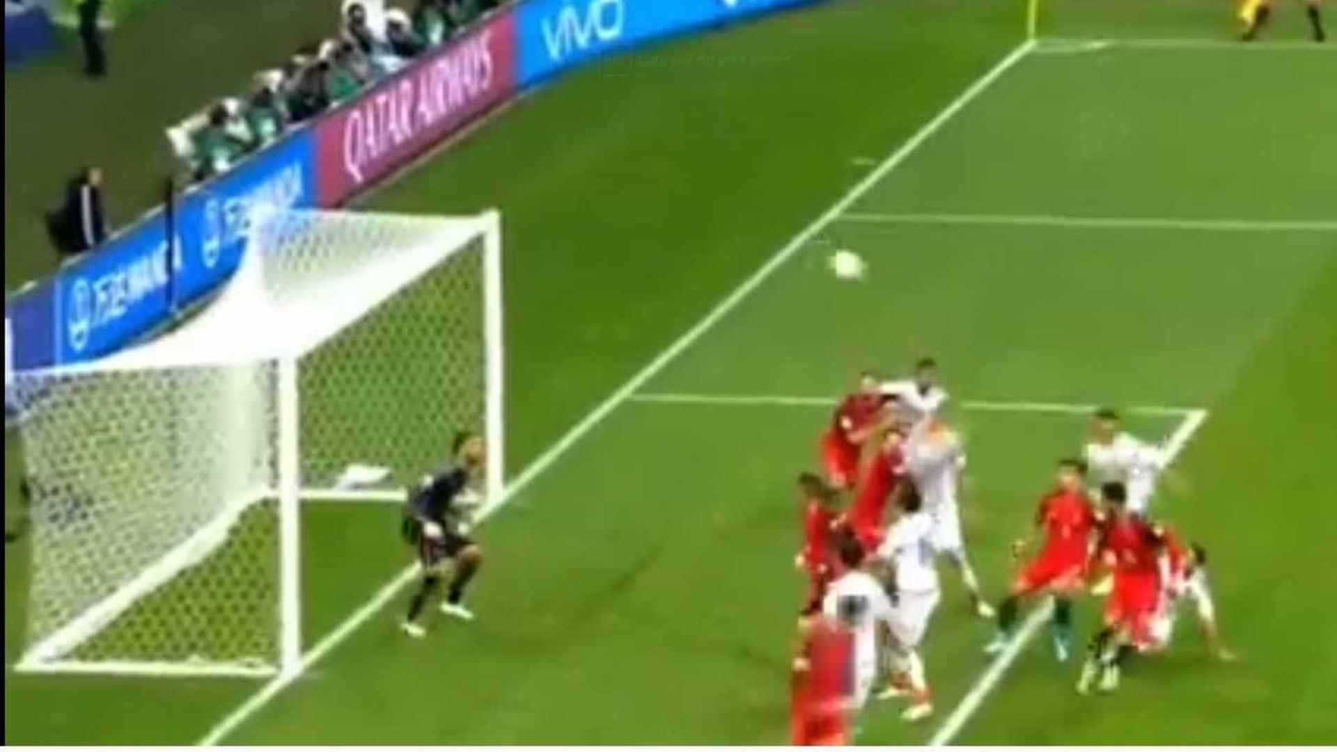 Moreno marca nos instantes finais e 'congela' Portugal