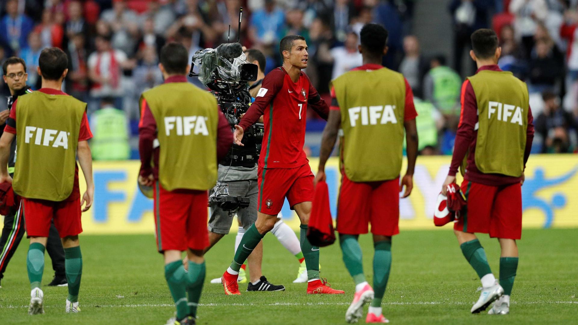 [2-2] Portugal deixa fugir vitória nos descontos e empata com o México